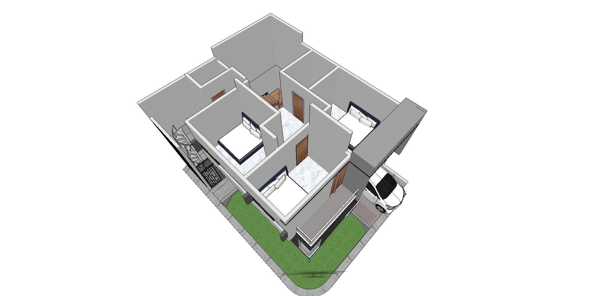 Zigzag Architecture Studio C House - Karawaci Karawaci, Kota Tangerang, Banten, Indonesia Karawaci, Kota Tangerang, Banten, Indonesia Zigzag-Architecture-Studio-C-House-Karawaci   59739