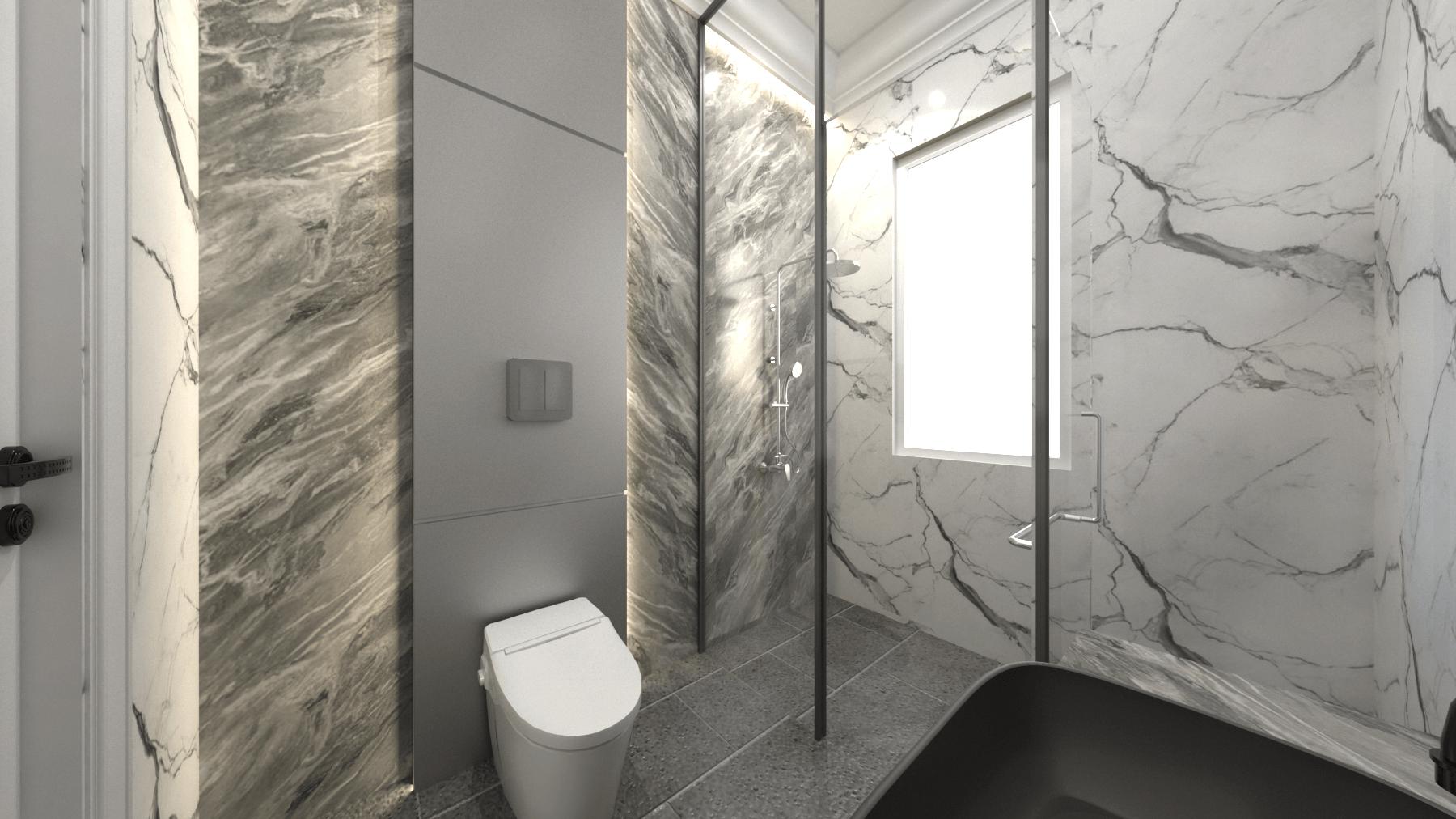 Mimic Concept Mr. Am - 2Nd Floor Jl. Pantai Indah Kapuk, Rt.6/rw.2, Kamal Muara, Kec. Penjaringan, Kota Jkt Utara, Daerah Khusus Ibukota Jakarta, Indonesia Jl. Pantai Indah Kapuk, Rt.6/rw.2, Kamal Muara, Kec. Penjaringan, Kota Jkt Utara, Daerah Khusus Ibukota Jakarta, Indonesia Bathroom Kid View 2  <P>Theme : Luxury Modern</p> <P>Material : Matble + Ducco + Hpl&nbsp;</p> 92601