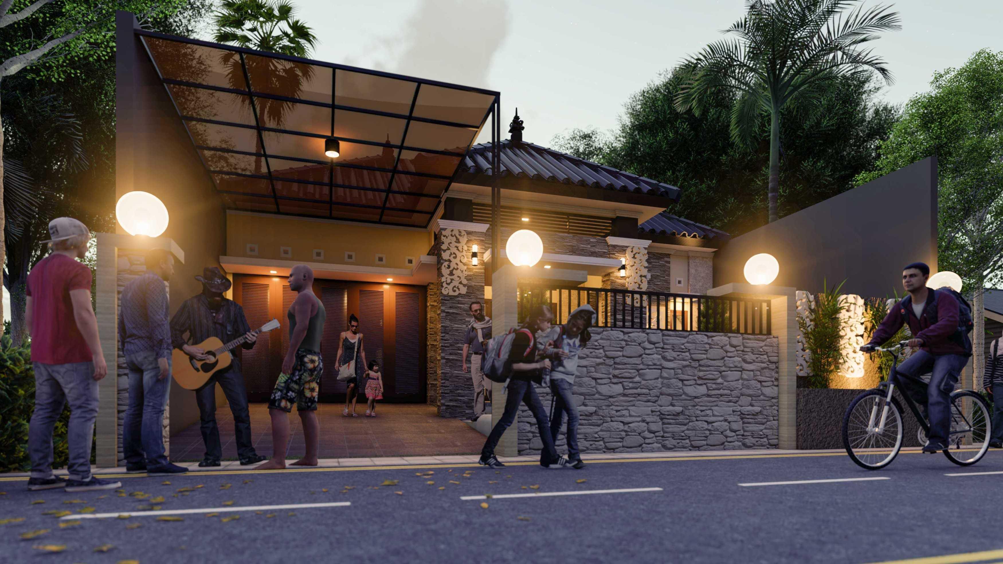 Nggambar Omah   Design And Build The Nusapenida House Blitar, Jawa Timur, Indonesia Blitar, Jawa Timur, Indonesia Tampak Depan Traditional <P>Ornamen Menjadikan Rumah Semakin Elegan, Mewah Dan Eksotik</p> 75675