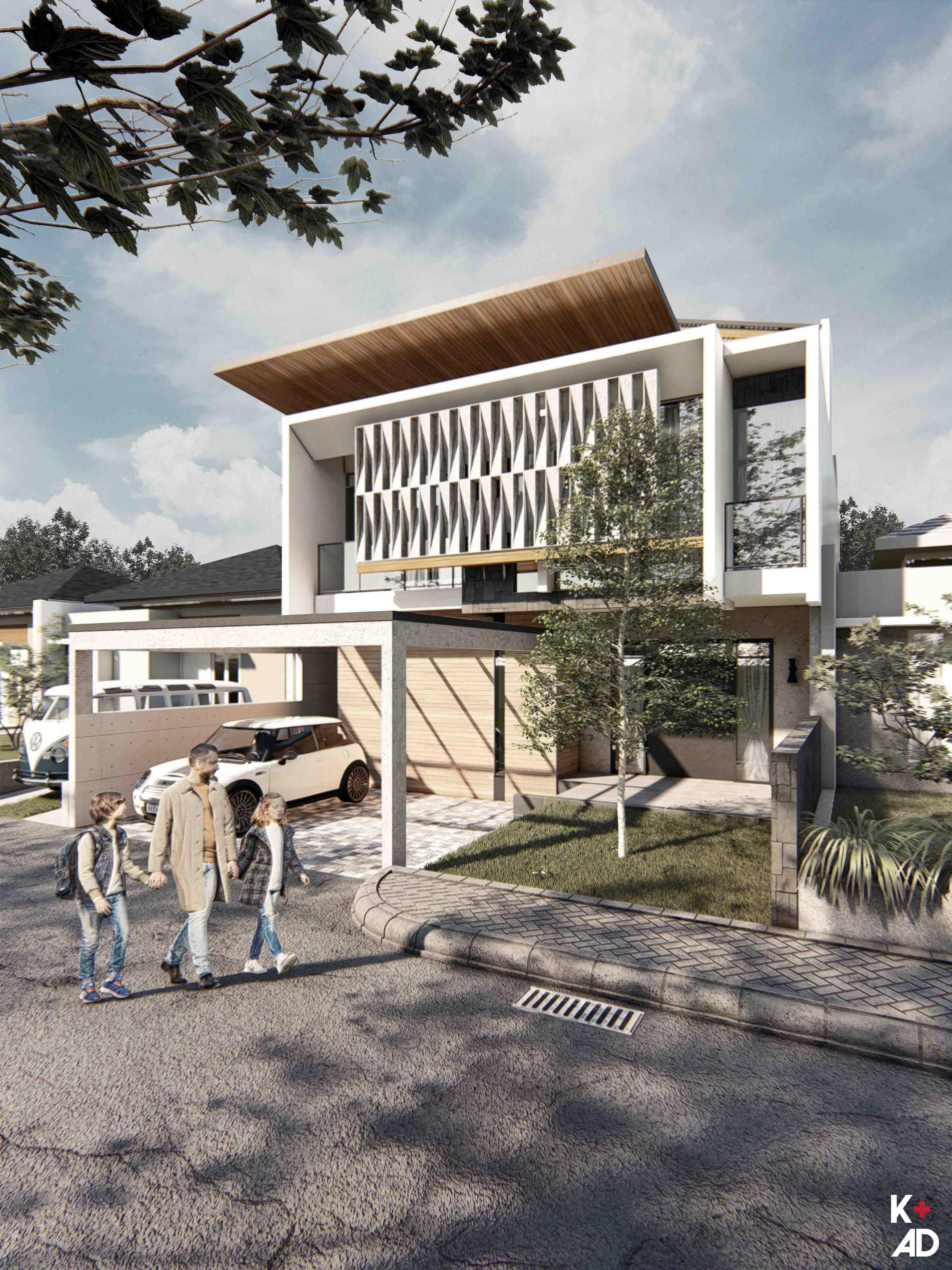 Kad Firma Arsitektur Sentul 2 House Bogor, Jawa Barat, Indonesia Bogor, Jawa Barat, Indonesia Sentul 2 House Tropical  81679
