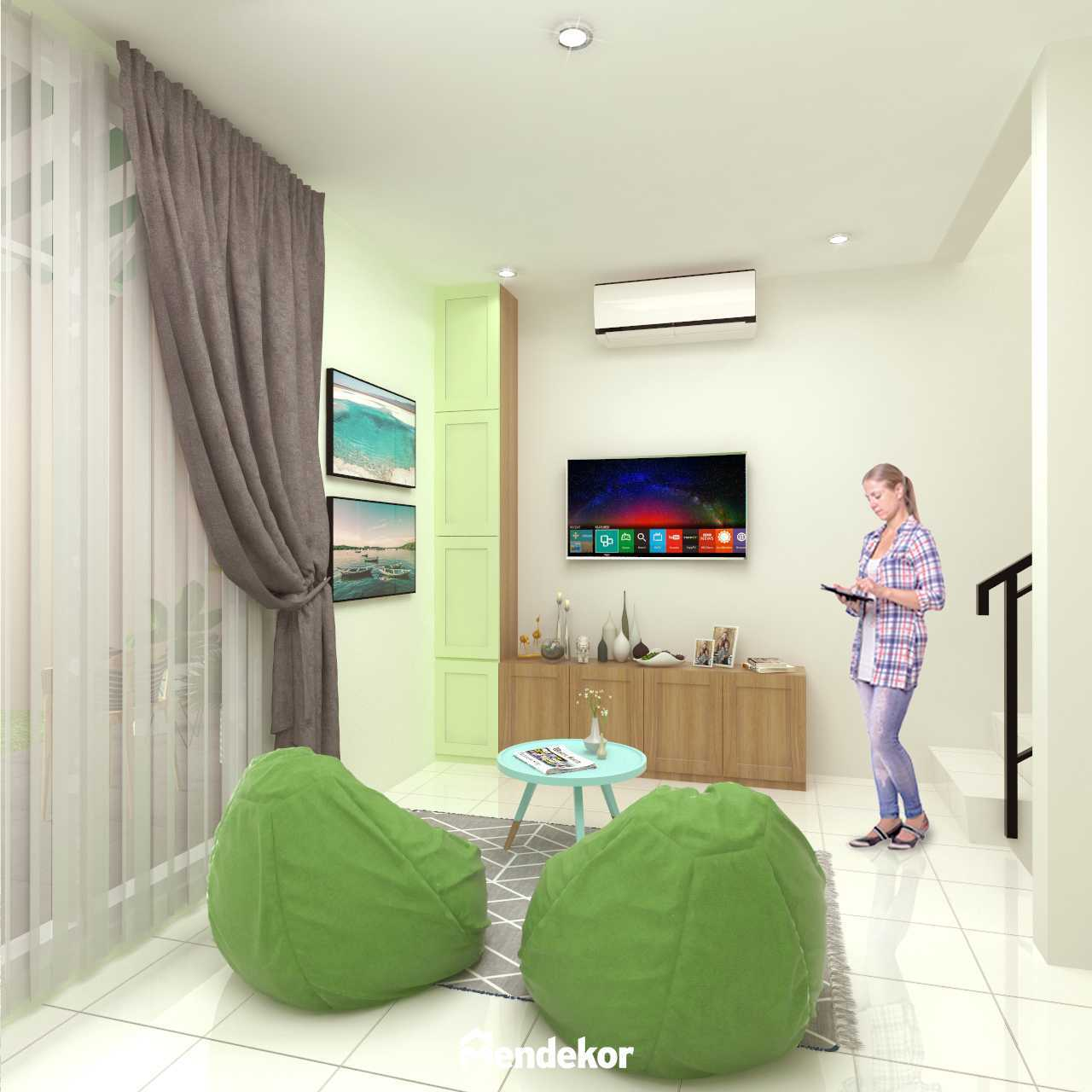 Mendekor Serang City Residence Serang, Kec. Serang, Kota Serang, Banten, Indonesia Serang, Kec. Serang, Kota Serang, Banten, Indonesia Living Room Minimalist  65094