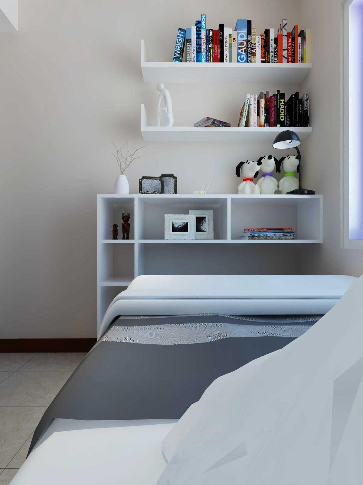 Mbartliving Interior Apartment Mediterania   Mbartliving-Interior-Apartment-Mediterania Minimalist <P>Book Shelve</p> 56453