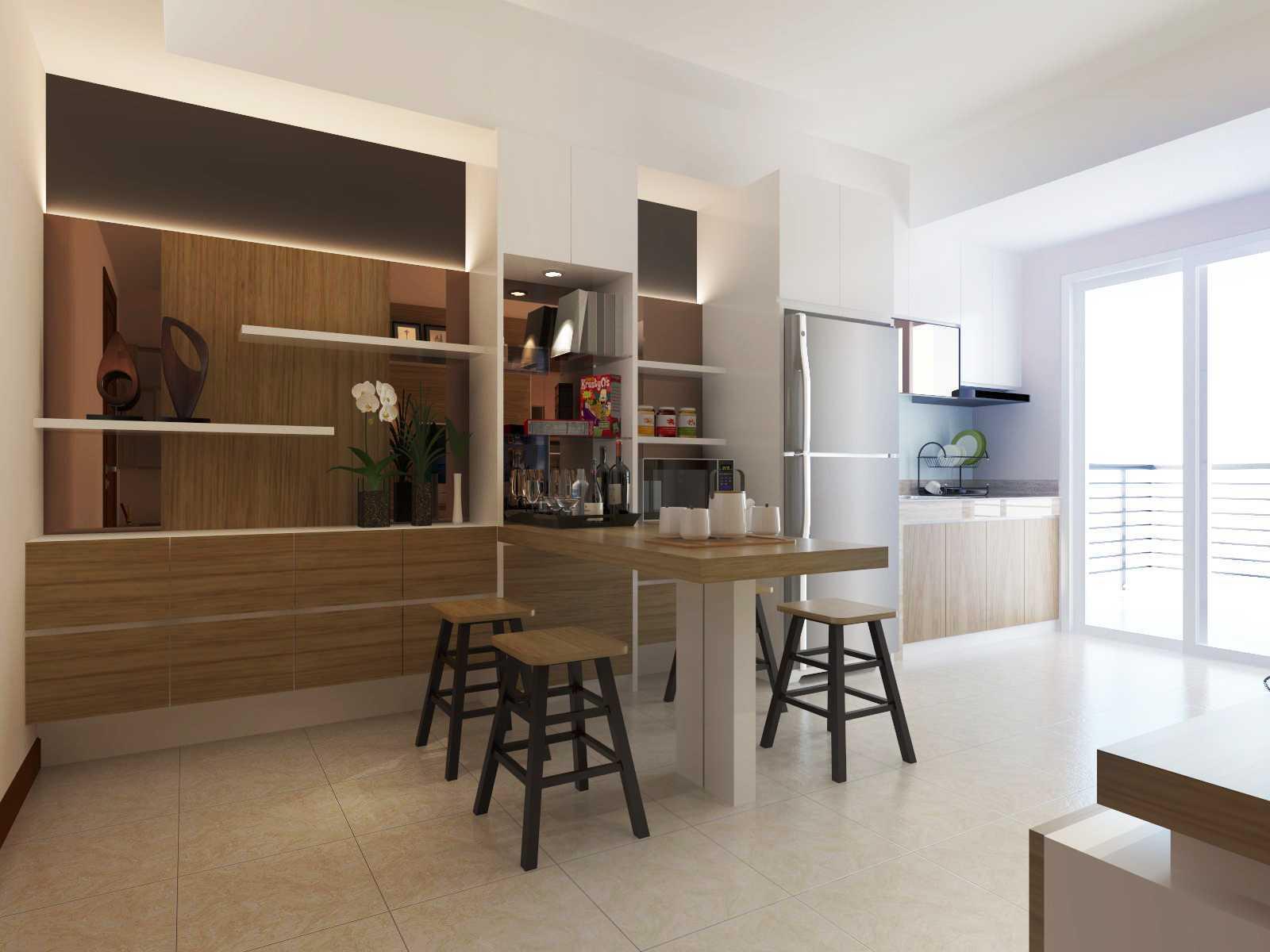 Mbartliving Interior Apartment Mediterania   Mbartliving-Interior-Apartment-Mediterania Minimalist <P>Mini Pantry</p> 56457
