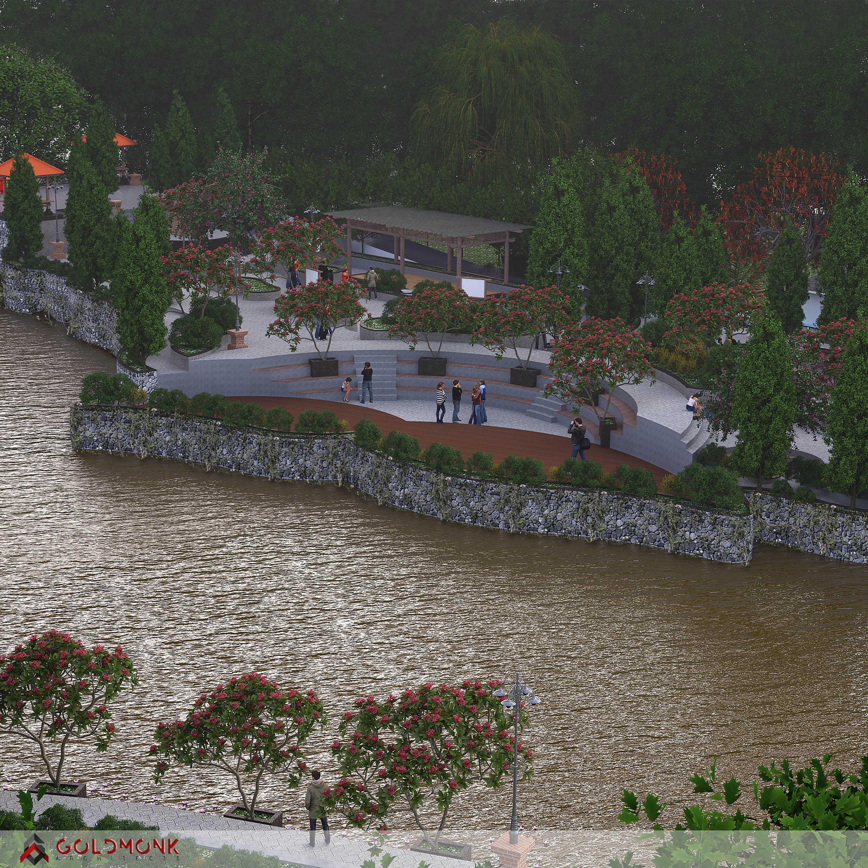 "Goldmonk Architects Penataan Alur Sungai ""tukad Oongan"" Kota Denpasar, Bali, Indonesia Kota Denpasar, Bali, Indonesia Goldmonk-Architects-Penataan-Alur-Sungai-Tukad-Oongan Tropical  60333"