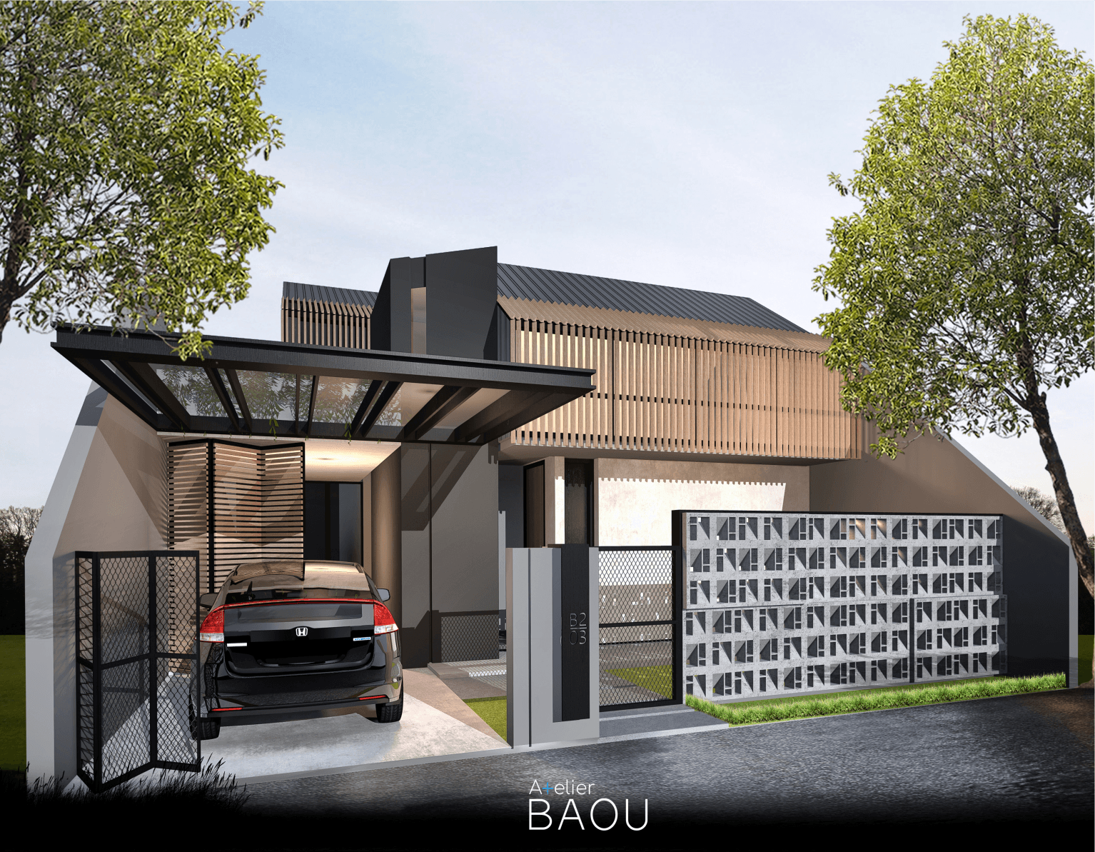 Atelier Baou Ss House Serang, Kec. Serang, Kota Serang, Banten, Indonesia Serang, Kec. Serang, Kota Serang, Banten, Indonesia Atelier-Baou-Ss-House   86461