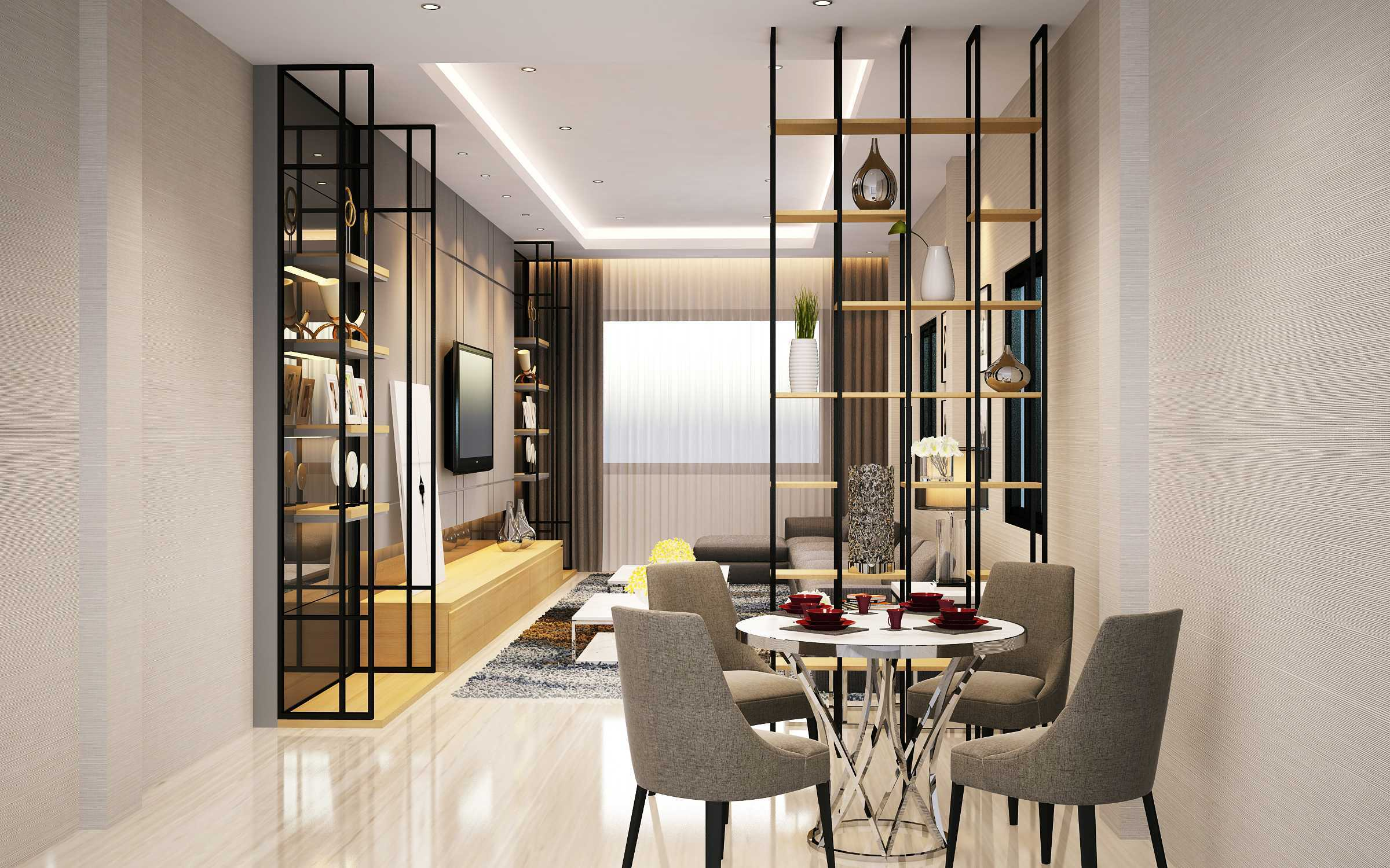 Simplifica Interior Mi House Medan, Kota Medan, Sumatera Utara, Indonesia Medan, Kota Medan, Sumatera Utara, Indonesia Simplifica-Interior-Mr-Ivan-House   62982