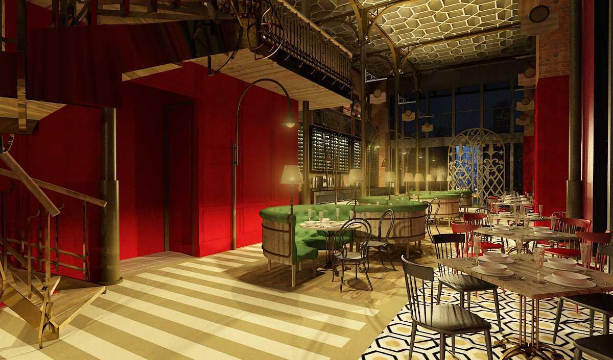 Amalia Monika Jack Rabbit Restaurant Jakarta, Daerah Khusus Ibukota Jakarta, Indonesia Jakarta, Daerah Khusus Ibukota Jakarta, Indonesia Indoor-Jack-Rabbit-Restaurant  <P>Interior View,full Detail Classic On Wall,ceiling,&amp; Floor.</p> 57484