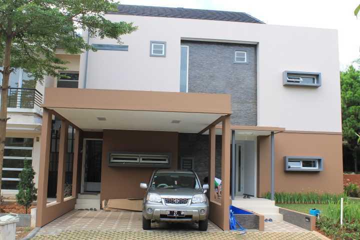 Yunus Noor T House Taman Jajan, Jl. Rw. Buntu, Rw. Buntu, 15310, Rw. Buntu, Serpong, Kota Tangerang Selatan, Banten, Indonesia  Yunus-Noor-T-House Modern 55107