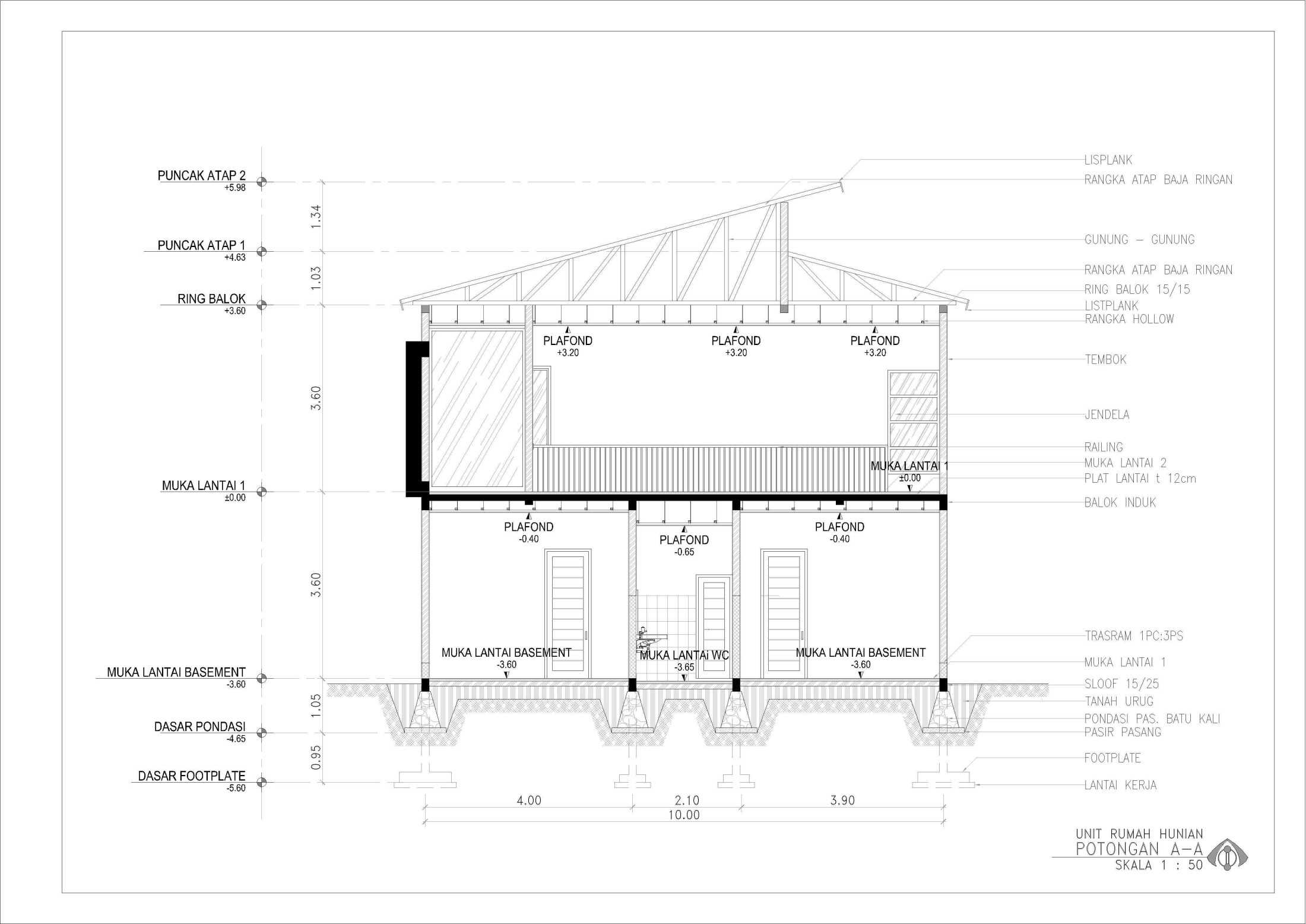 Ansitama Architecture Studio Rumah Hunian Bapak Hijri Jambi, Kota Jambi, Jambi, Indonesia Jambi, Kota Jambi, Jambi, Indonesia Ansitama-Architetcture-Studio-Rumah-Hunian-Bapak-Hijri  56258