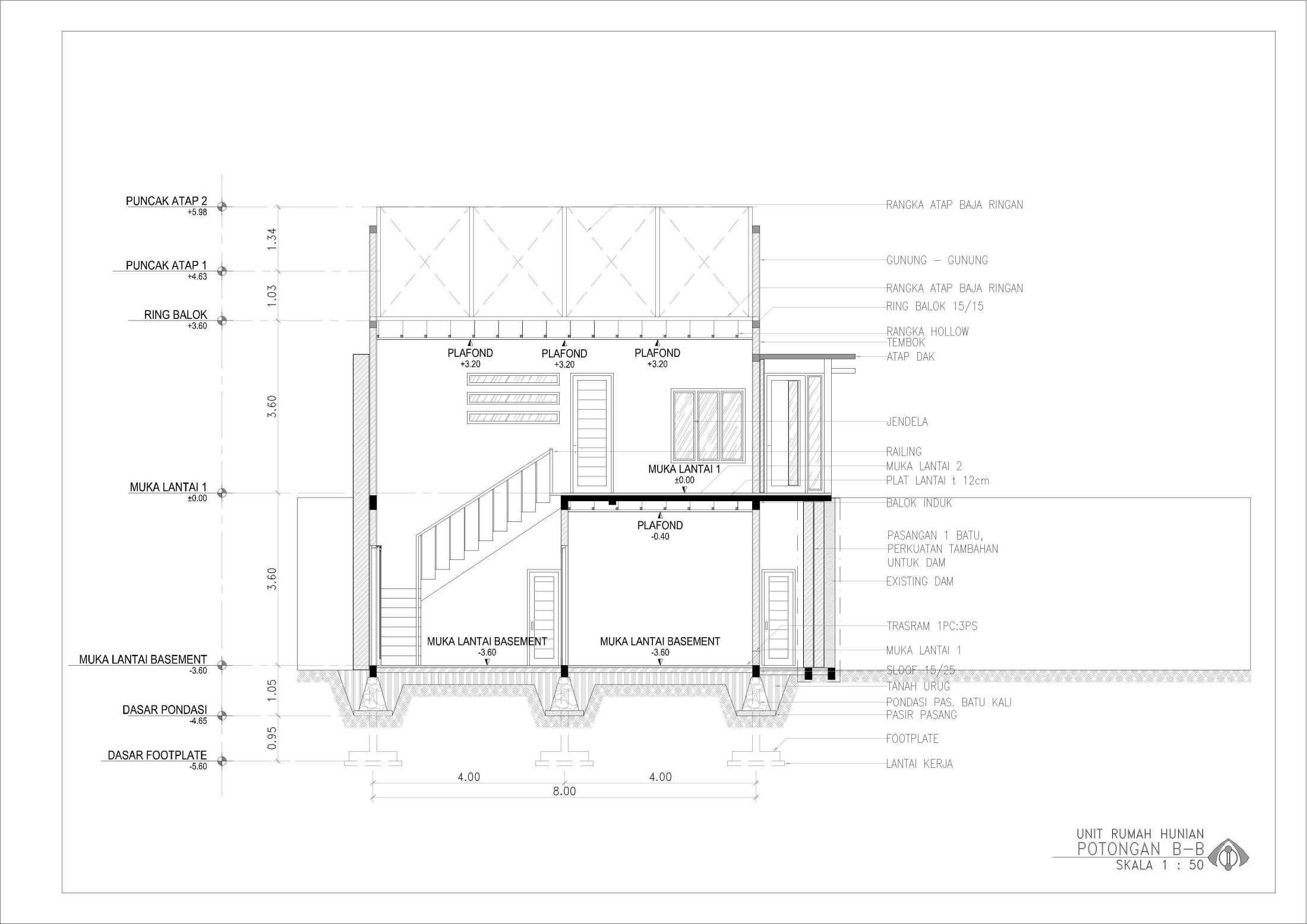 Ansitama Architecture Studio Rumah Hunian Bapak Hijri Jambi, Kota Jambi, Jambi, Indonesia Jambi, Kota Jambi, Jambi, Indonesia Ansitama-Architetcture-Studio-Rumah-Hunian-Bapak-Hijri  56259