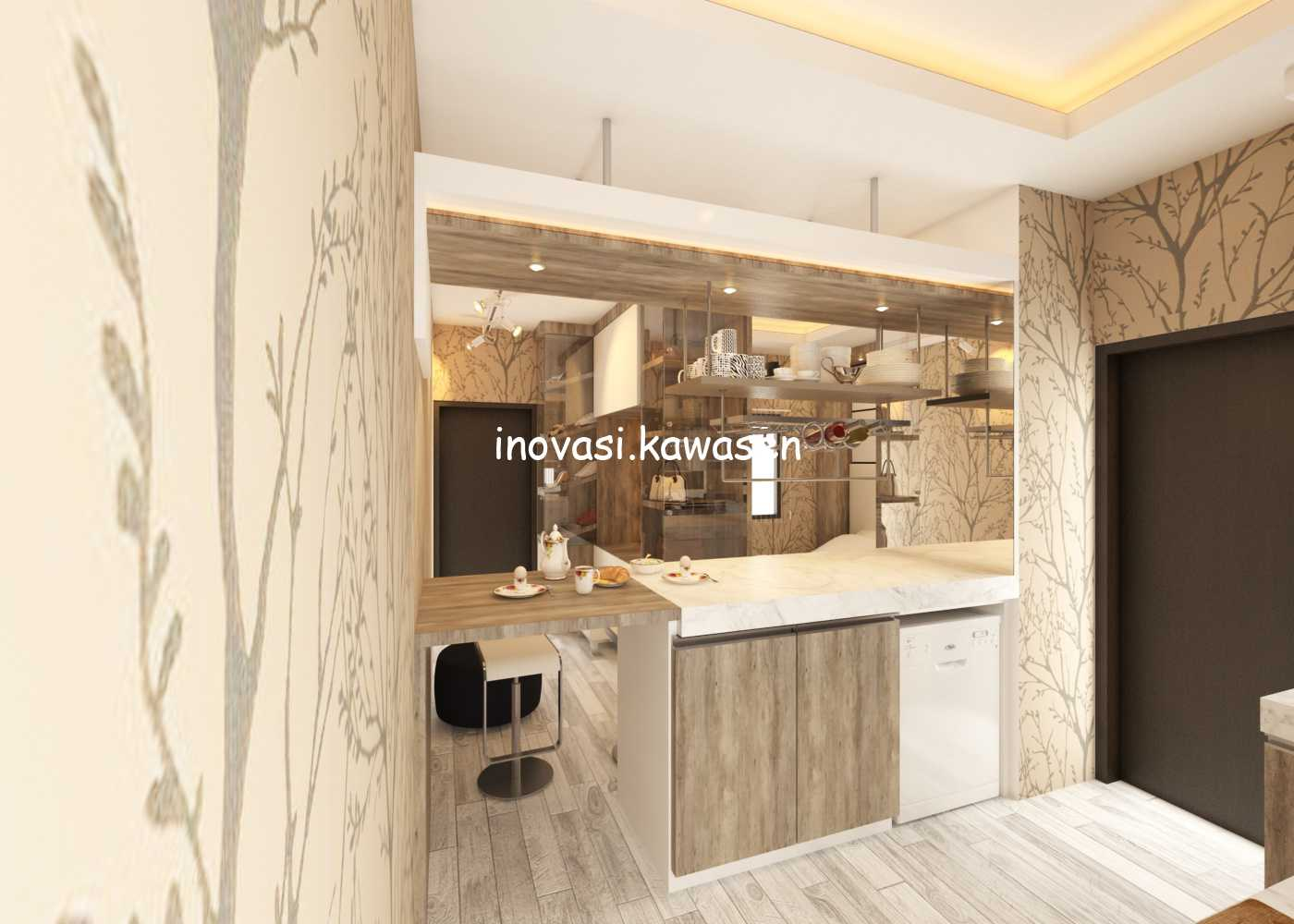 Inovasi Kawasen Interior Apartment Jakarta, Daerah Khusus Ibukota Jakarta, Indonesia Jakarta, Daerah Khusus Ibukota Jakarta, Indonesia Inovasi-Kawasen-Interior-Apartment  89760