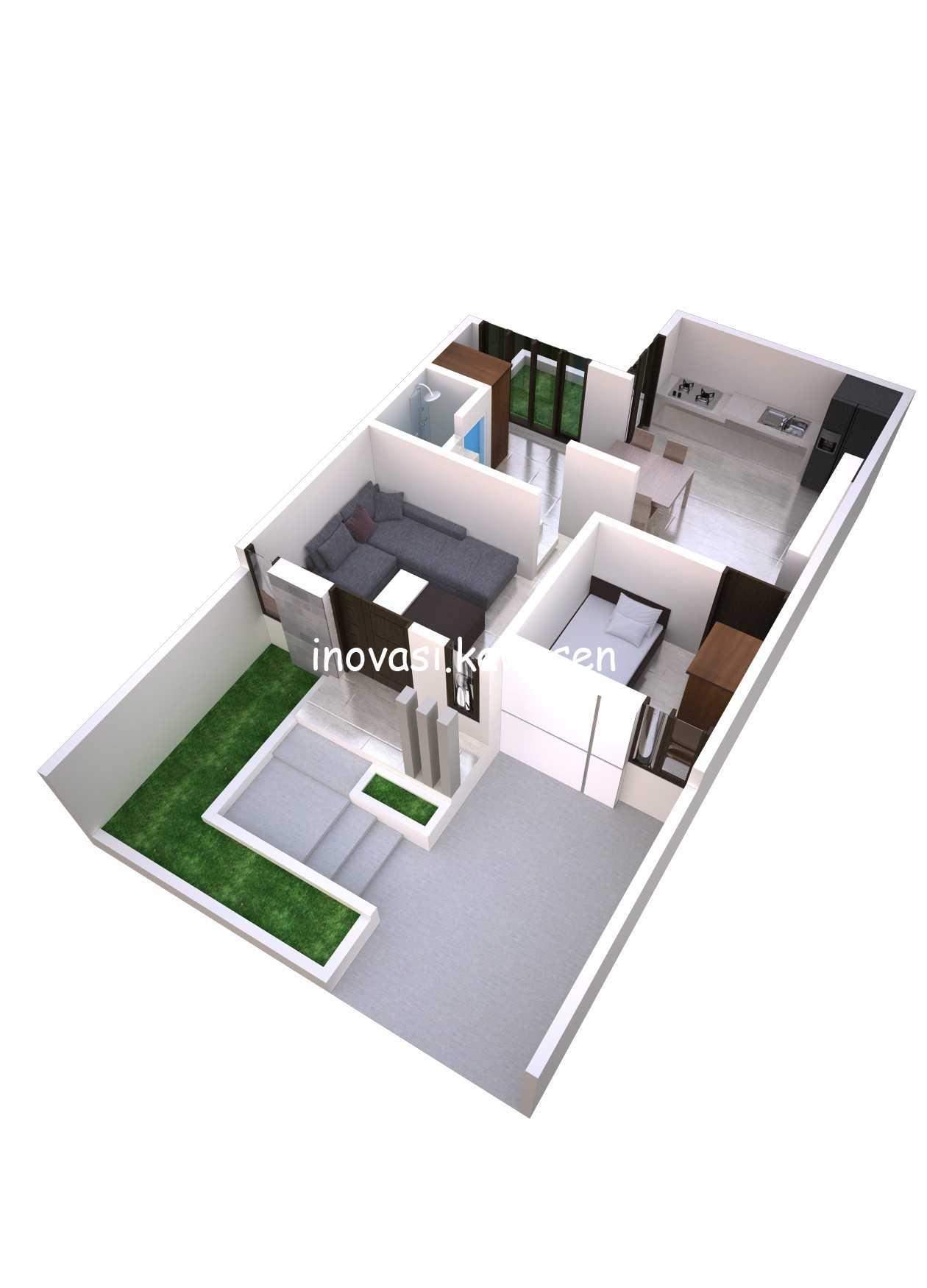 Inovasi Kawasen Renovasi Rumah Type 45 ( Desain ) Kota Depok, Jawa Barat, Indonesia Kota Depok, Jawa Barat, Indonesia Inovasi-Kawasen-Renovasi-Rumah-Type-45-Desain-  89834