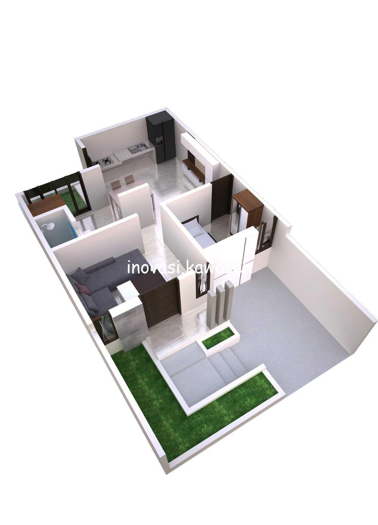 Inovasi Kawasen Renovasi Rumah Type 45 ( Desain ) Kota Depok, Jawa Barat, Indonesia Kota Depok, Jawa Barat, Indonesia Inovasi-Kawasen-Renovasi-Rumah-Type-45-Desain-  89835