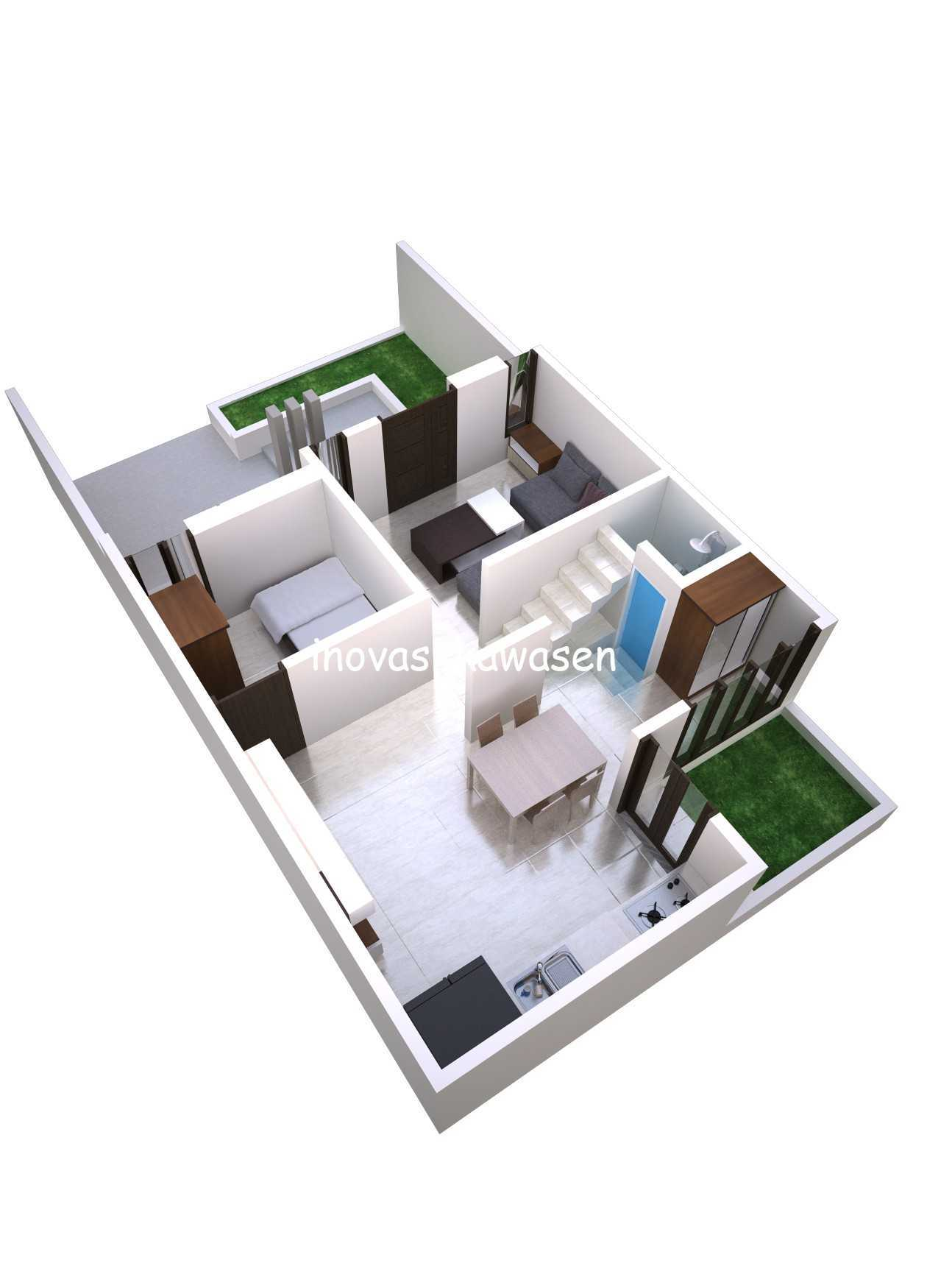Inovasi Kawasen Renovasi Rumah Type 45 ( Desain ) Kota Depok, Jawa Barat, Indonesia Kota Depok, Jawa Barat, Indonesia Inovasi-Kawasen-Renovasi-Rumah-Type-45-Desain-  89836