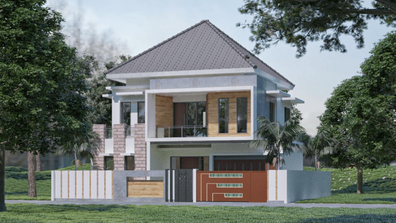 Sinan Arsitek Desain Rumah 2 Lantai Palembang, Kota Palembang, Sumatera Selatan, Indonesia Palembang, Kota Palembang, Sumatera Selatan, Indonesia Sinan-Arsitek-Desain-Rumah-2-Lantai Tropical 117519
