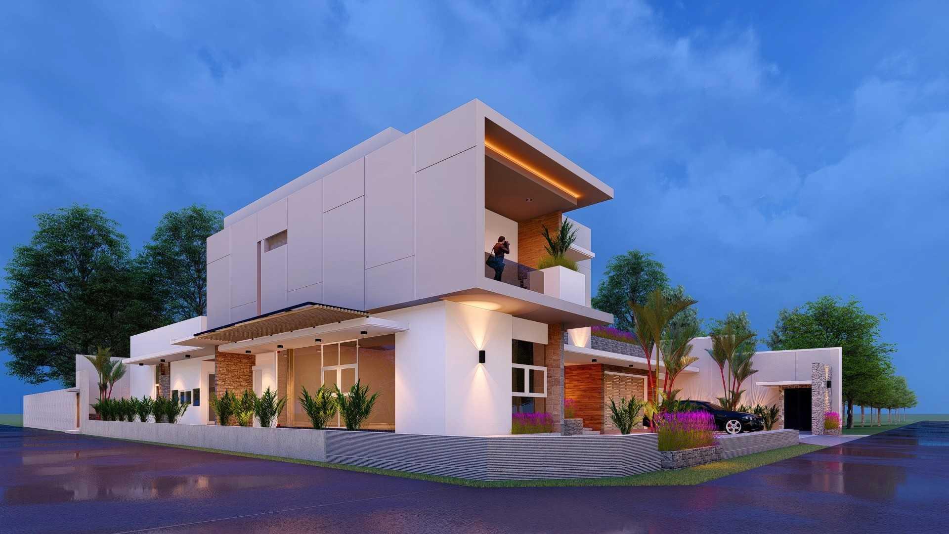 Conarch Studio Fr  House Surakarta, Kota Surakarta, Jawa Tengah, Indonesia Surakarta, Kota Surakarta, Jawa Tengah, Indonesia Conarch-Bangun-Sejahtera-Fr-House Modern 78903