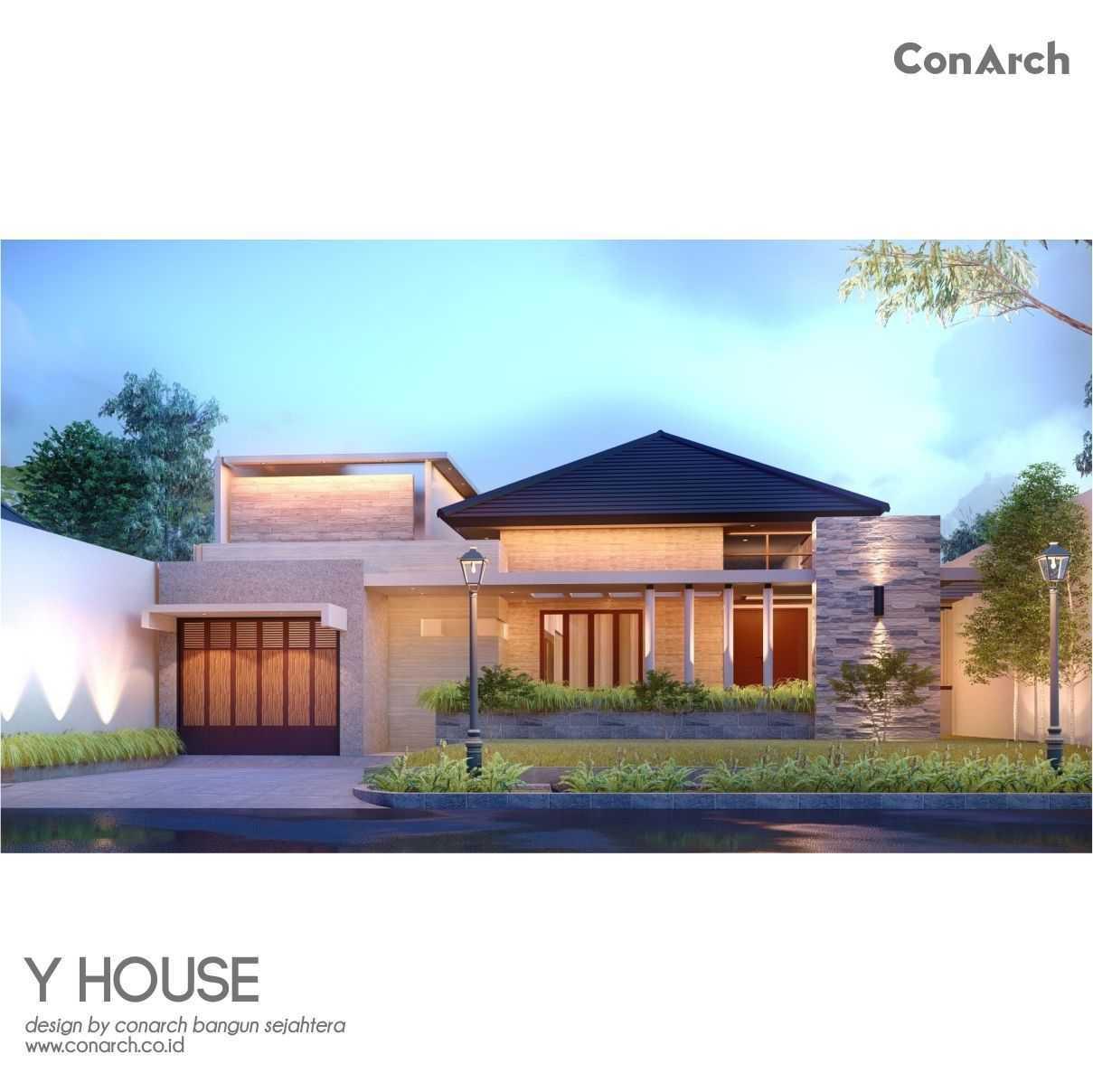 Conarch Studio Mr. Yohan House Klaten, Kabupaten Klaten, Jawa Tengah, Indonesia Klaten, Kabupaten Klaten, Jawa Tengah, Indonesia Conarch-Bangun-Sejahtera-Mr-Yohan-House  82524