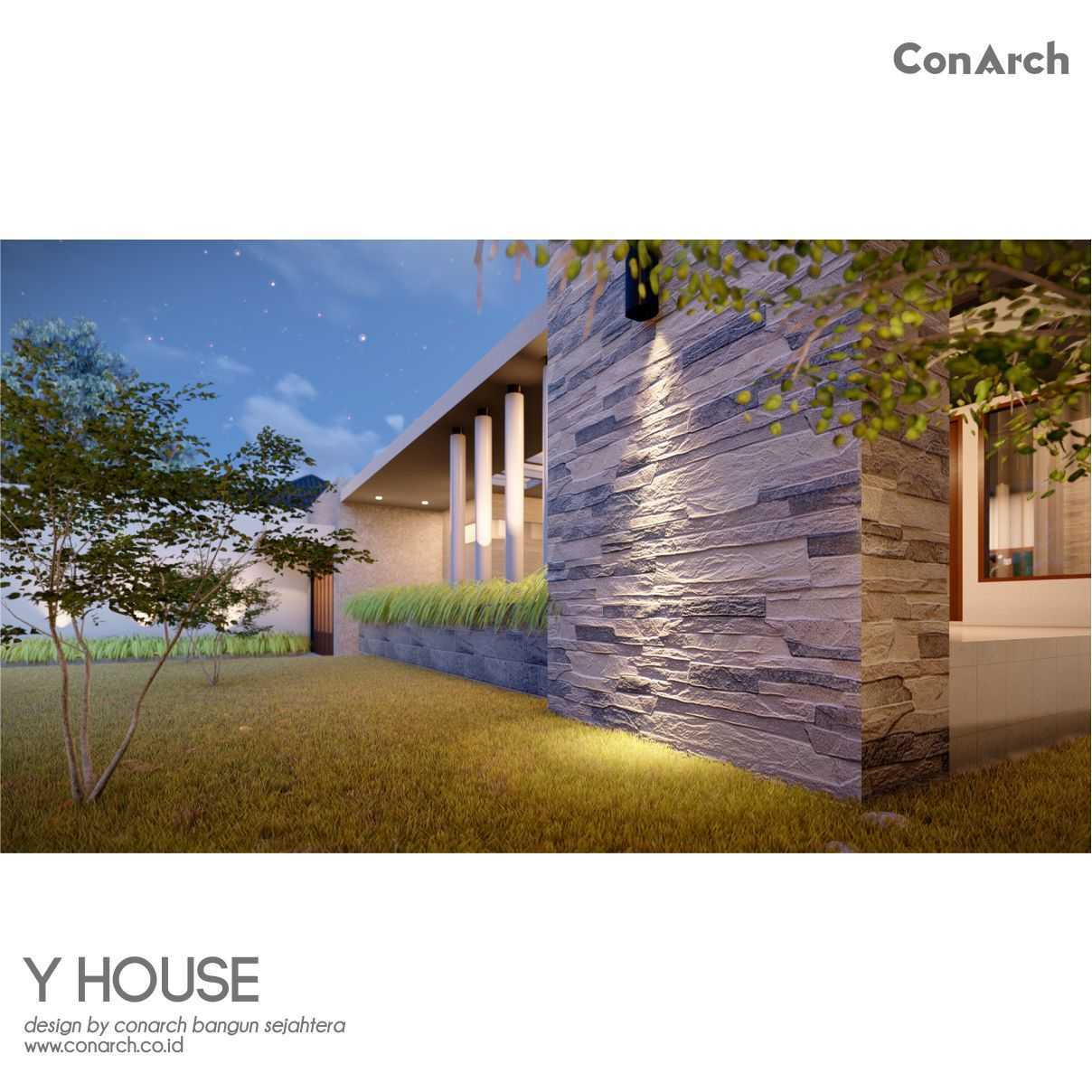 Conarch Studio Mr. Yohan House Klaten, Kabupaten Klaten, Jawa Tengah, Indonesia Klaten, Kabupaten Klaten, Jawa Tengah, Indonesia Conarch-Bangun-Sejahtera-Mr-Yohan-House  82527