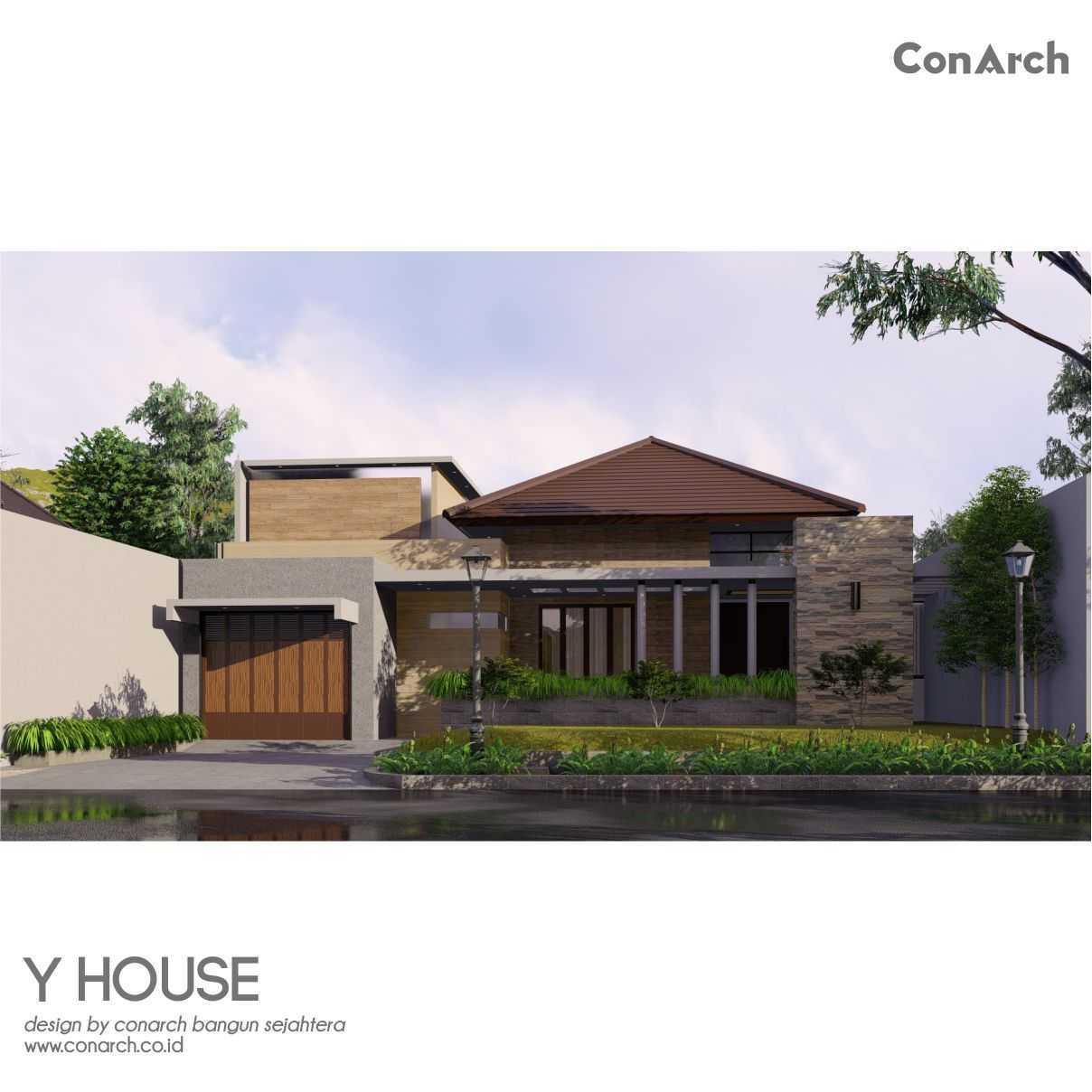 Conarch Studio Mr. Yohan House Klaten, Kabupaten Klaten, Jawa Tengah, Indonesia Klaten, Kabupaten Klaten, Jawa Tengah, Indonesia Conarch-Bangun-Sejahtera-Mr-Yohan-House  82535