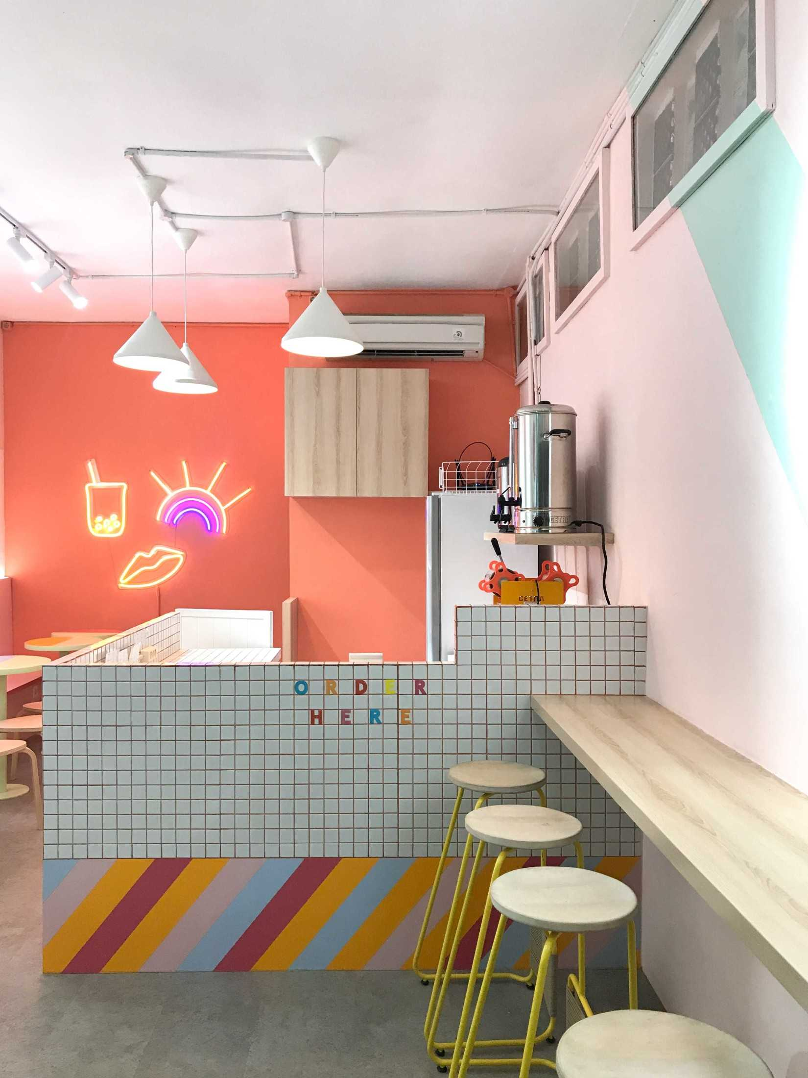 Jasa Interior Desainer Co+in Collaborative Lab di Jakarta