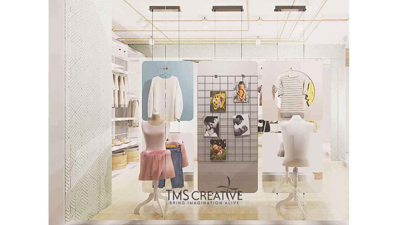 Foto inspirasi ide desain display area modern Tms-creative-lippo-loft-district-1-cikarang-indonesia oleh TMS Creative di Arsitag