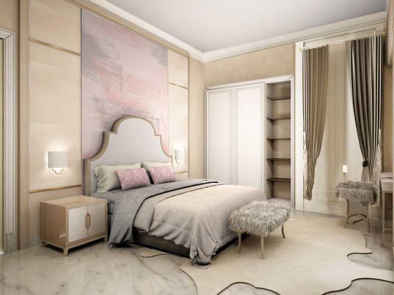 Foto inspirasi ide desain kamar tidur anak Tms-creative-pondok-indah-residence oleh TMS Creative di Arsitag