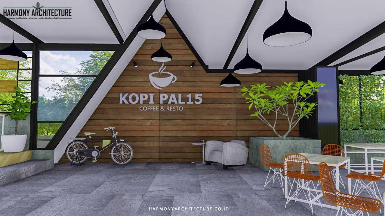 Project Desain Cafe PAL15 desain arsitek oleh HARMONY ...