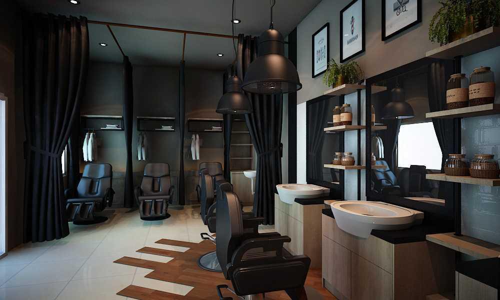 Aditya Wira Hardi Design Interior Barbershop Kabupaten Sidoarjo, Jawa Timur, Indonesia Kabupaten Sidoarjo, Jawa Timur, Indonesia Aditya-Wira-Hardi-Design-Interior-Barbershop  66089