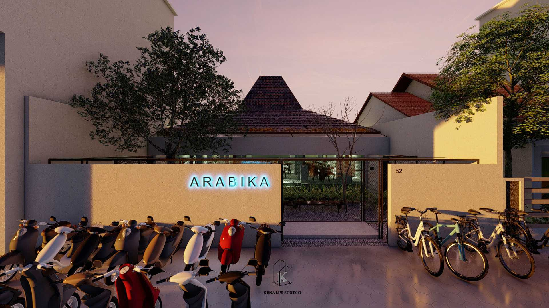 Kenali's Studio Arabika Cafe Semarang, Kota Semarang, Jawa Tengah, Indonesia Semarang, Kota Semarang, Jawa Tengah, Indonesia Kenalis-Studio-Arabika-Cafe Scandinavian 93651