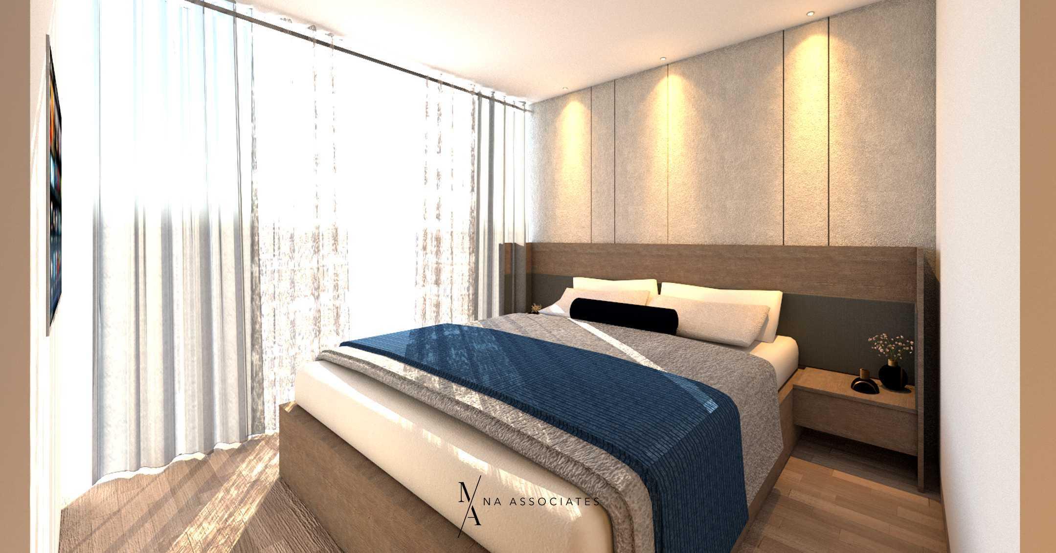 Na Associates Jgc House Jakarta, Daerah Khusus Ibukota Jakarta, Indonesia Jakarta, Daerah Khusus Ibukota Jakarta, Indonesia Master Bedroom Contemporary 75116