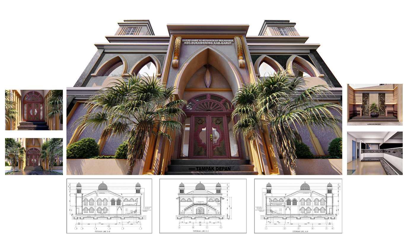 Rchitect Masjid Al-Mubarokah Sukawening, Kabupaten Garut, Jawa Barat, Indonesia Sukawening, Kabupaten Garut, Jawa Barat, Indonesia Rchitect-Masjid-Al-Mubarokah Classic 75339