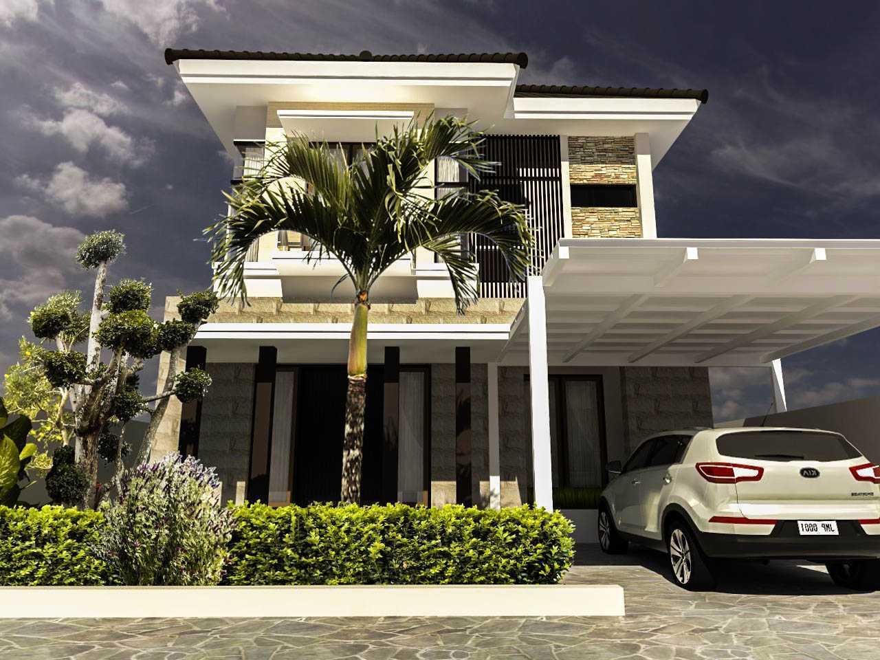 Project Rumah Minimalis Modern desain arsitek oleh Arch ...