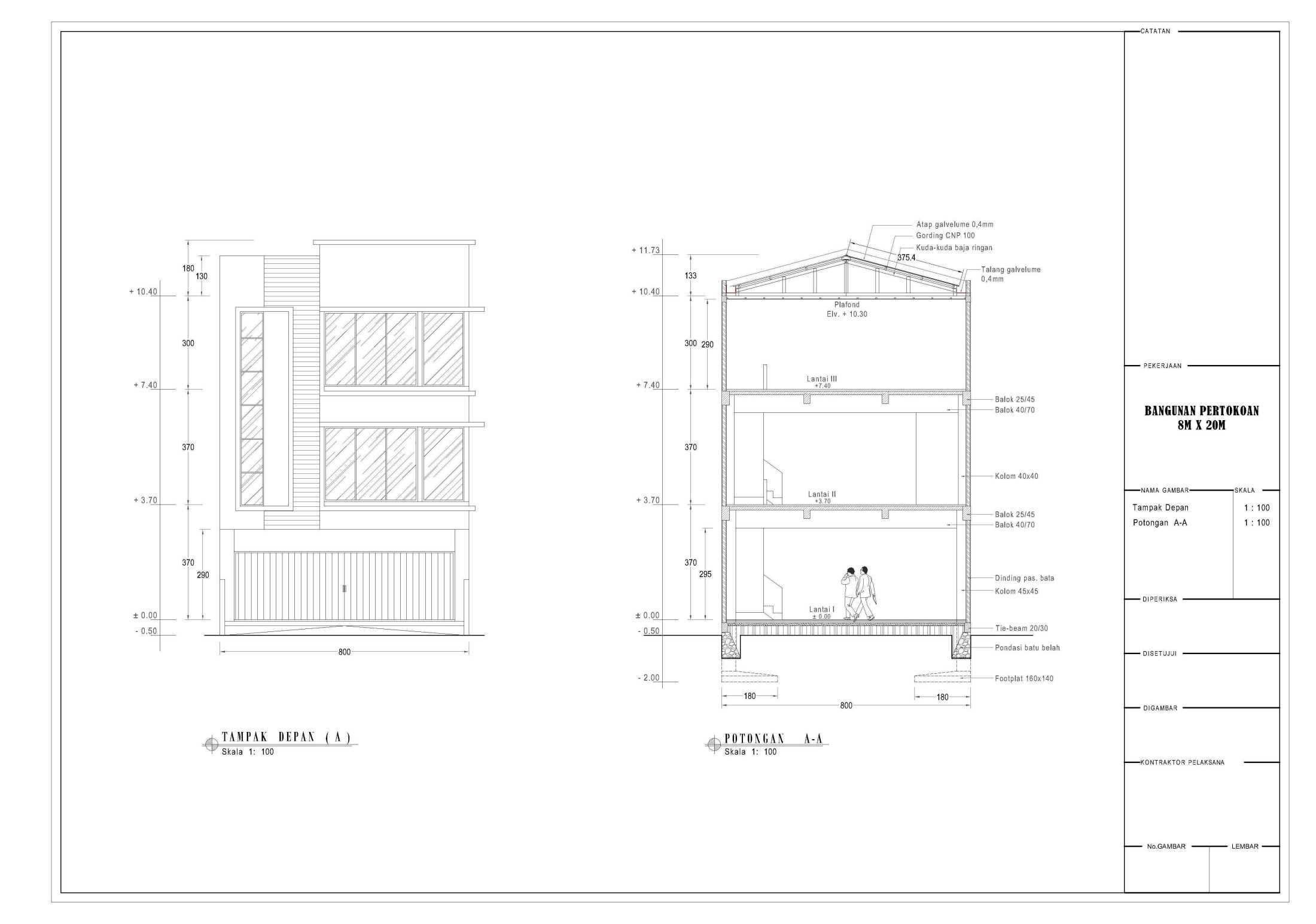 Arsein_Design Bangunan Ruko 3Lt Semarang, Kota Semarang, Jawa Tengah, Indonesia Semarang, Kota Semarang, Jawa Tengah, Indonesia Arseindesign-Bangunan-Rukoo-3Lt  82479