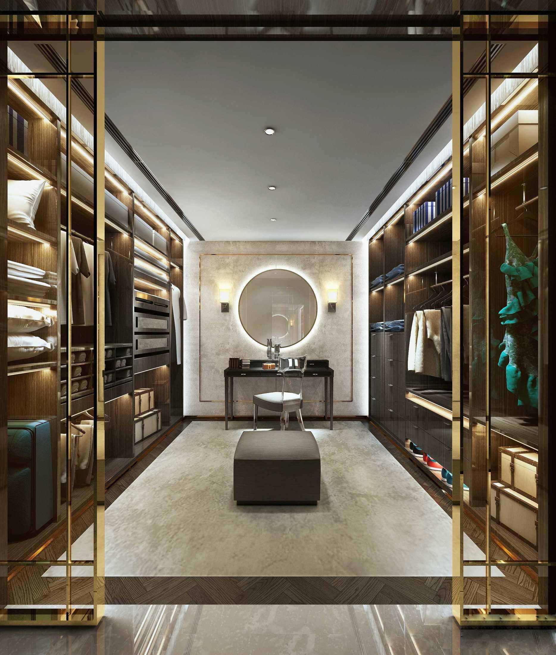 Bej.interior Luxury Wardrobe/closet/display Area Jakarta, Daerah Khusus Ibukota Jakarta, Indonesia Jakarta, Daerah Khusus Ibukota Jakarta, Indonesia Bejinterior-Luxury-Interior-Home  80478