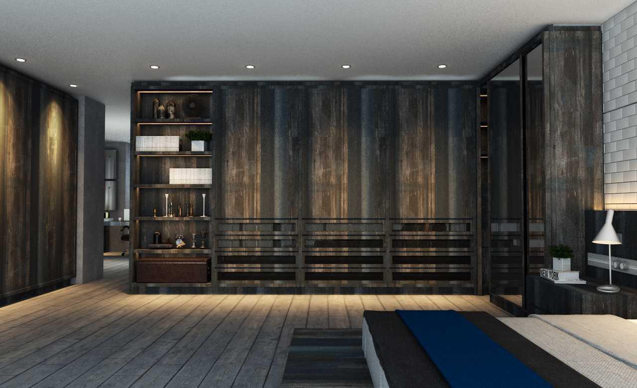 Foto inspirasi ide desain kamar tidur industrial Kamar tidur oleh Juan Albert di Arsitag