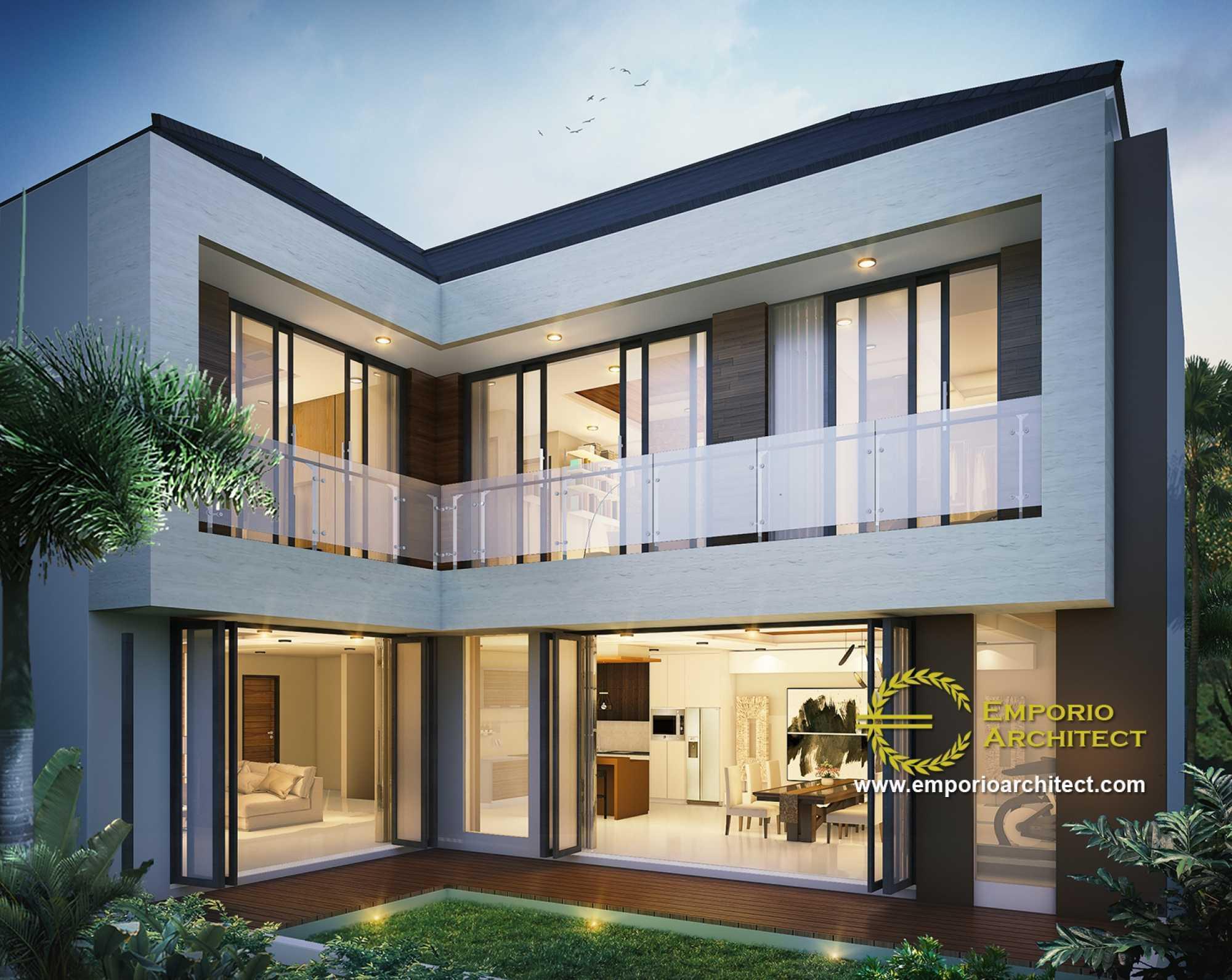 Emporio Architect Desain Rumah Modern Tropis 312 @ Bogor Bogor, Jawa Barat, Indonesia Bogor, Jawa Barat, Indonesia Emporio-Architect-Desain-Rumah-Modern-Tropis-312-Bogor  73102