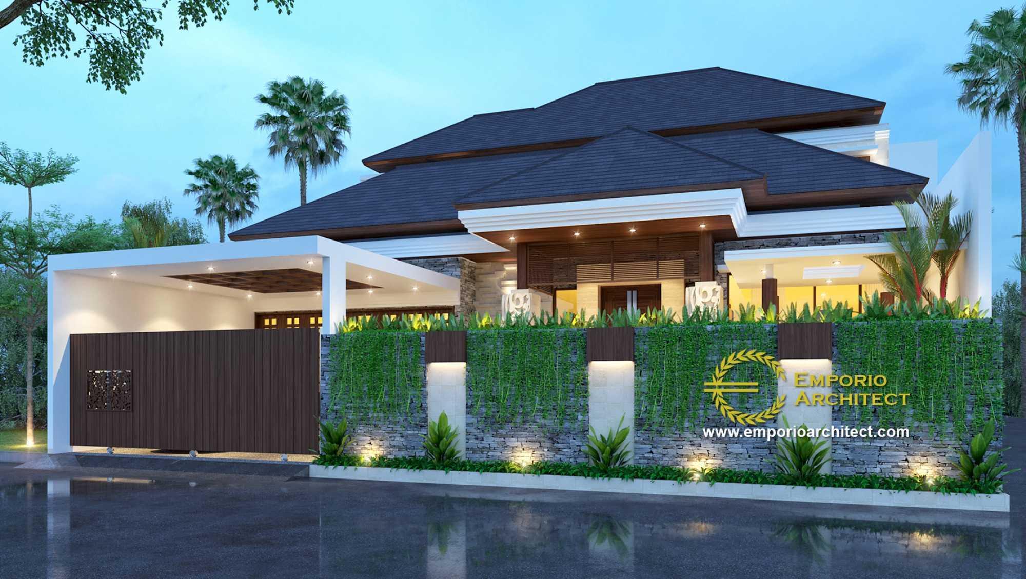Emporio Architect Desain Rumah Villa Bali Tropis 317 @ Bogor Bogor, Jawa Barat, Indonesia Bogor, Jawa Barat, Indonesia Emporio-Architect-Desain-Rumah-Villa-Bali-Tropis-317-Bogor  74109