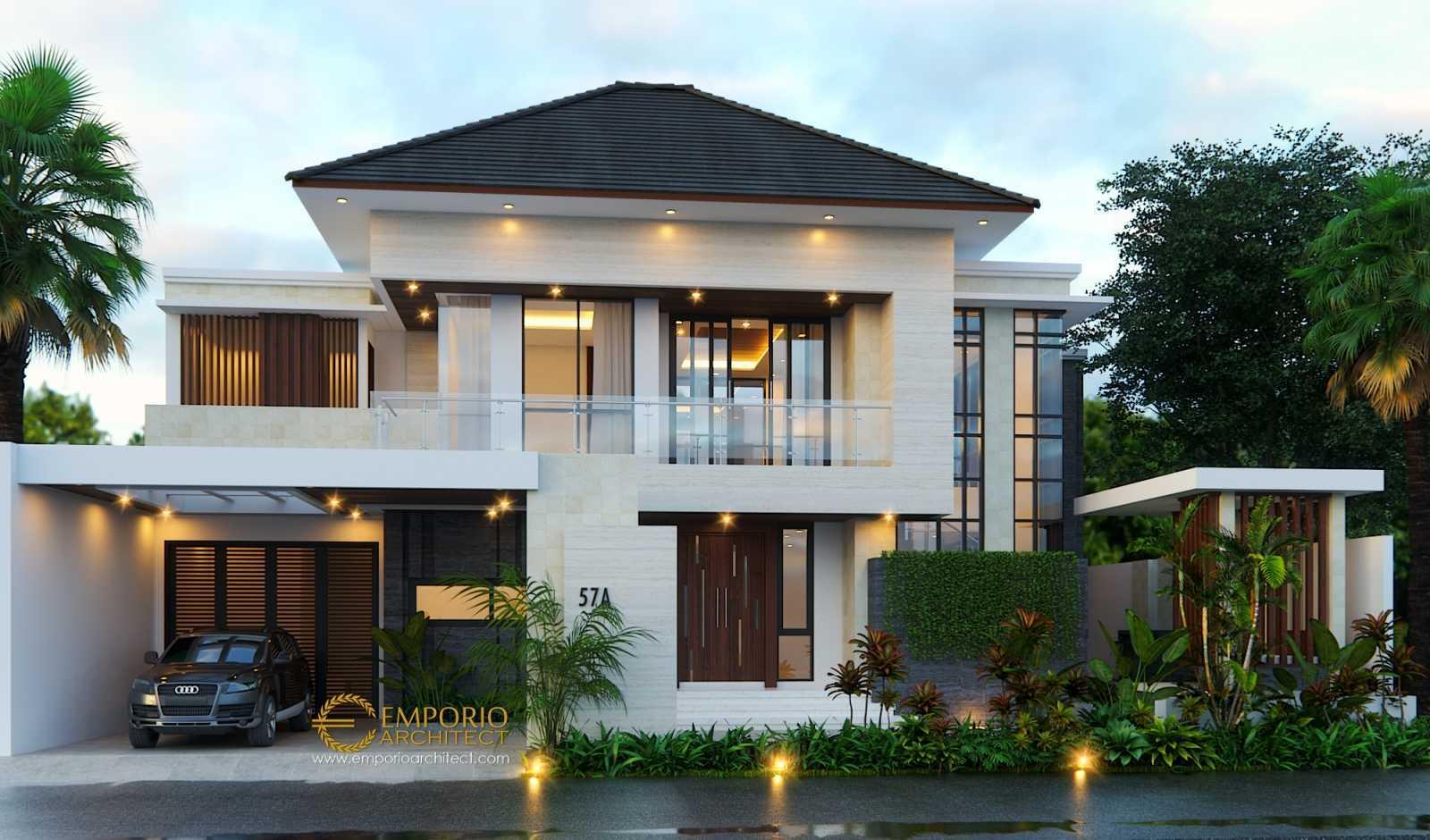 Desain Rumah Modern Tropis 2 Lantai - Sekitar Rumah
