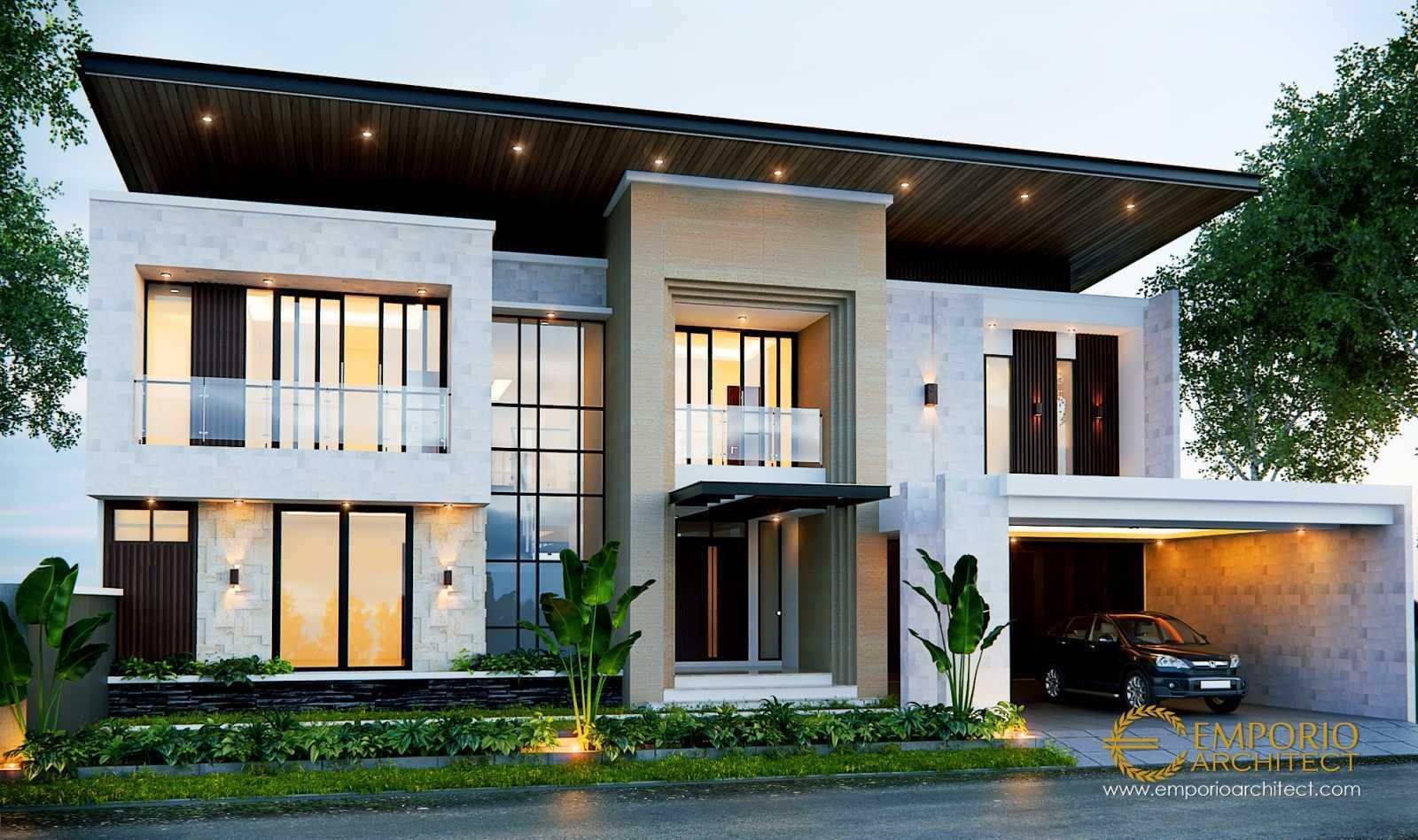 Emporio Architect Desain Rumah Modern Tropis 456 @ Bekasi Bekasi, Kota Bks, Jawa Barat, Indonesia Bekasi, Kota Bks, Jawa Barat, Indonesia Emporio-Architect-Desain-Rumah-Modern-Tropis-456-Bekasi Modern 76120