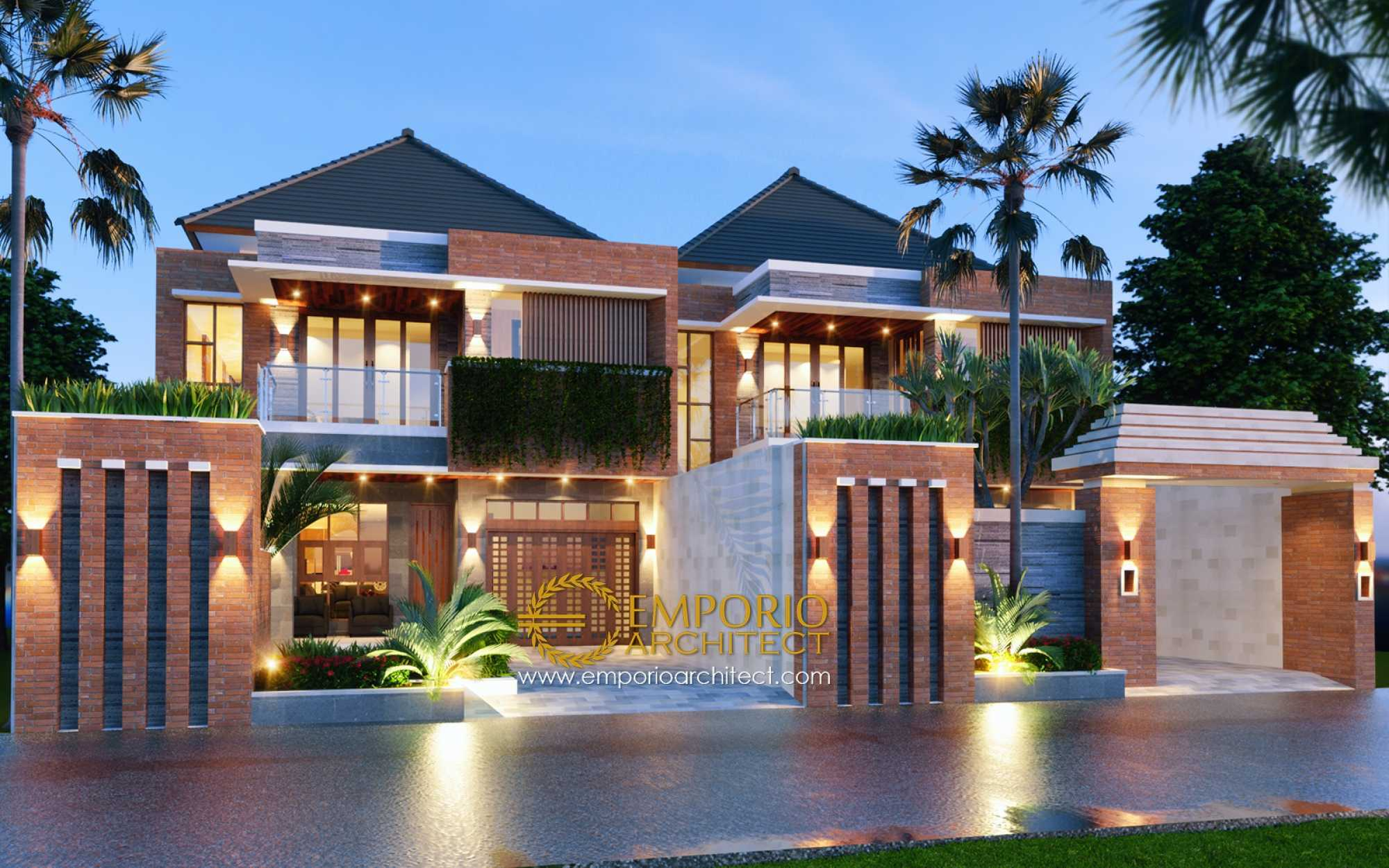 Emporio Architect Desain Rumah Villa Bali Tropis 375 @ Denpasar, Bali Kota Denpasar, Bali, Indonesia Kota Denpasar, Bali, Indonesia Emporio-Architect-Desain-Rumah-Villa-Bali-Tropis-375-Denpasar-Bali Tropical 76210