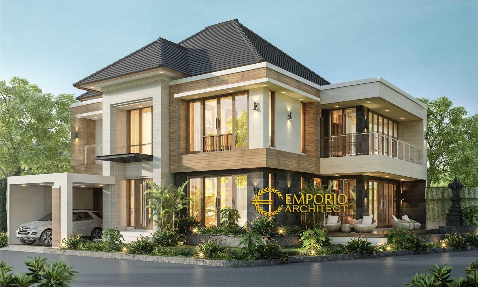 Emporio Architect Desain Rumah Modern Tropis 595 @ Mengwi, Badung, Bali Mengwi, Kec. Mengwi, Kabupaten Badung, Bali, Indonesia Mengwi, Kec. Mengwi, Kabupaten Badung, Bali, Indonesia Emporio-Architect-Desain-Rumah-Modern-Tropis-595-Mengwi-Badung-Bali Modern 76606