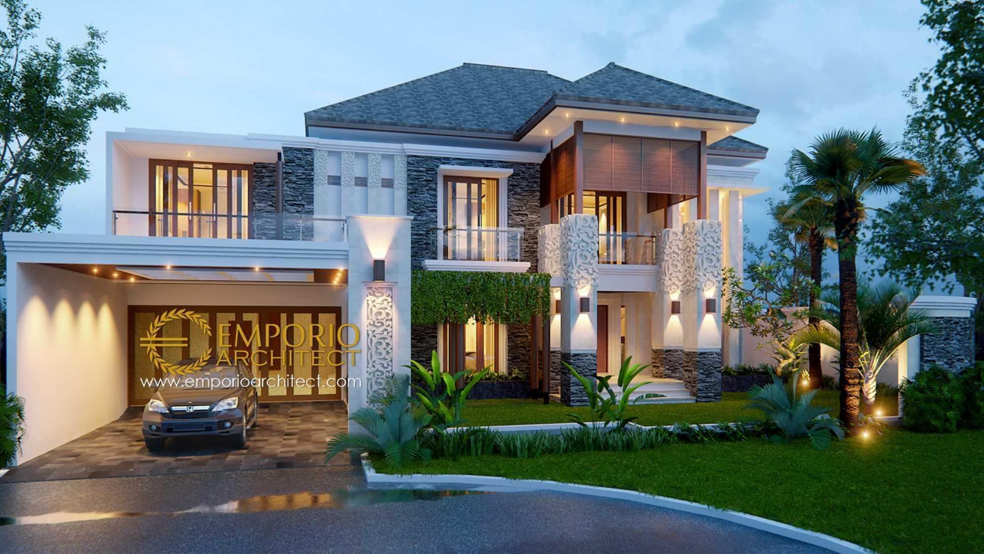 Emporio Architect Desain Rumah Villa Bali Tropis 395 @ Bekasi Bekasi, Kota Bks, Jawa Barat, Indonesia Bekasi, Kota Bks, Jawa Barat, Indonesia Emporio-Architect-Desain-Rumah-Villa-Bali-Tropis-395-Bekasi Tropical 76937