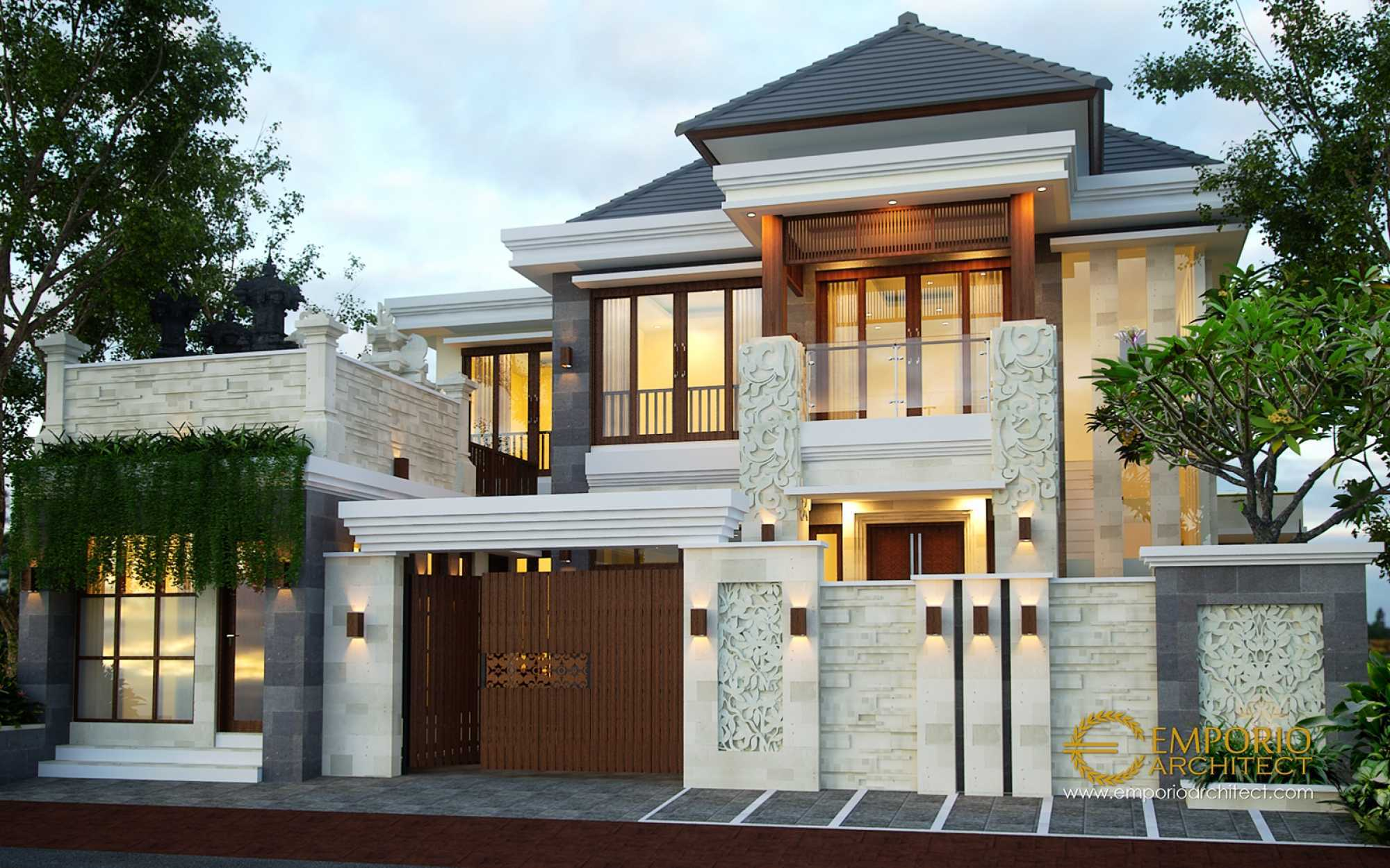 Emporio Architect Desain Rumah Villa Bali Tropis 419 @ Denpasar, Bali Kota Denpasar, Bali, Indonesia Kota Denpasar, Bali, Indonesia Emporio-Architect-Desain-Rumah-Villa-Bali-Tropis-419-Denpasar-Bali Tropical 77400