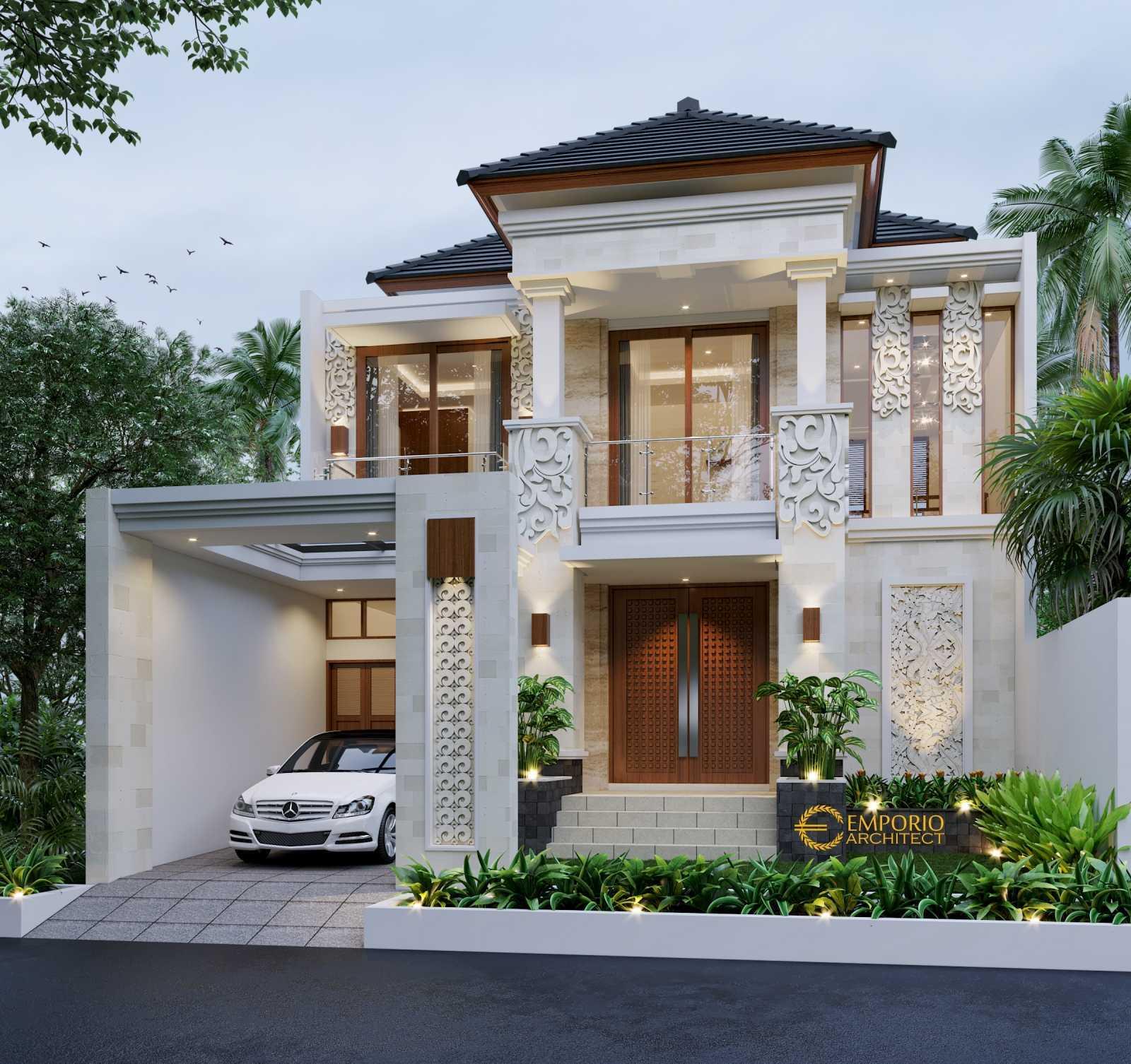 Emporio Architect Desain Rumah Villa Bali Tropis 609 @ Cikarang, Bekasi Cikarang, Bekasi, Jawa Barat, Indonesia Cikarang, Bekasi, Jawa Barat, Indonesia Emporio-Architect-Desain-Rumah-Villa-Bali-Tropis-609-Cikarang-Bekasi Tropical 77528