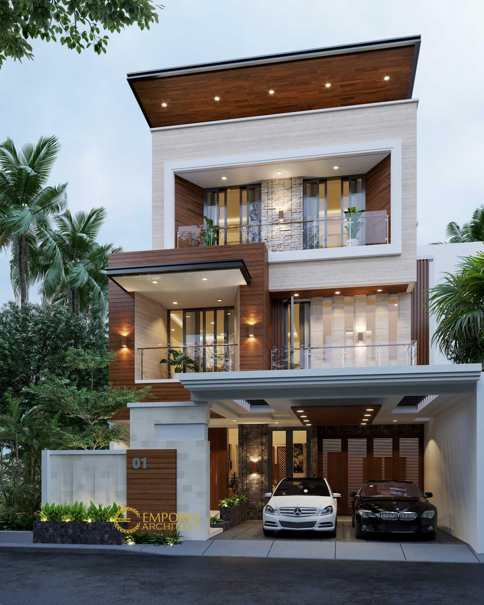 Emporio Architect Desain Rumah Modern Tropis 618 @ Tangerang Tangerang, Kota Tangerang, Banten, Indonesia Tangerang, Kota Tangerang, Banten, Indonesia Emporio-Architect-Desain-Rumah-Modern-Tropis-618-Tangerang Modern 78177