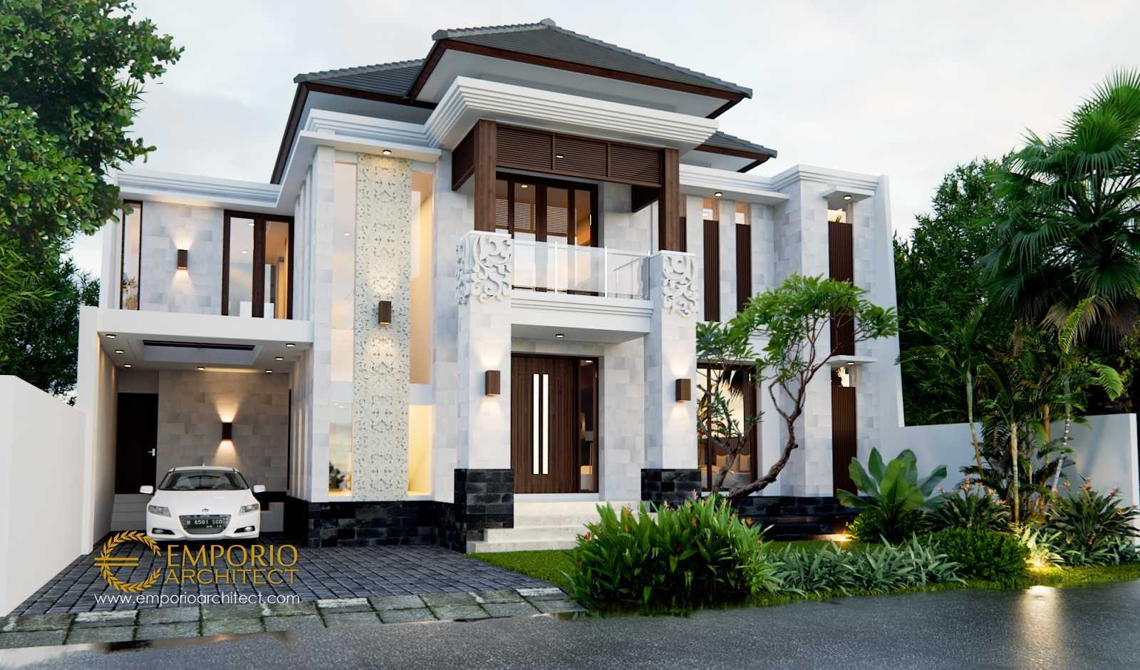 Emporio Architect Desain Rumah Villa Bali Tropis 495 @ Cikarang, Bekasi Cikarang, Bekasi, Jawa Barat, Indonesia Cikarang, Bekasi, Jawa Barat, Indonesia Emporio-Architect-Desain-Rumah-Villa-Bali-Tropis-495-Cikarang-Bekasi Tropical 78305