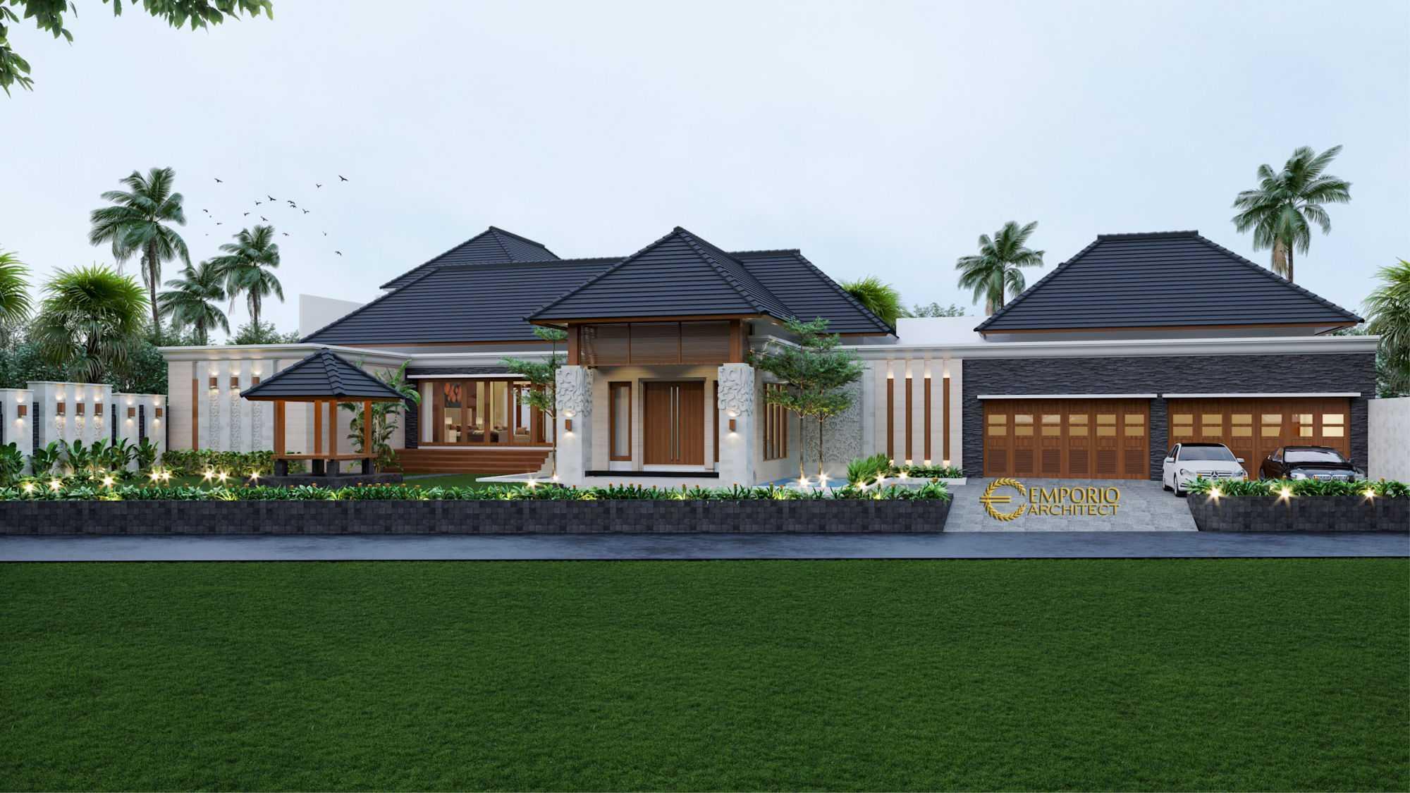 Project Jasa Arsitek Kalimantan Desain Rumah Villa Bali