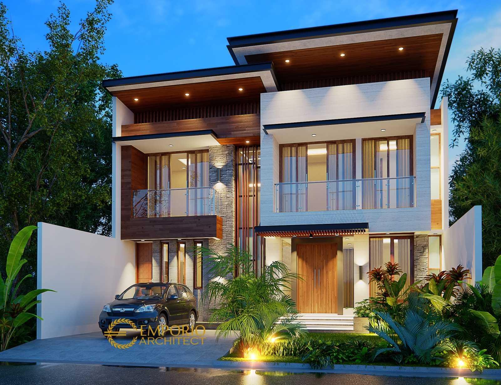 Project Jasa Arsitek Depok Desain Rumah Modern Tropis 622 Depok