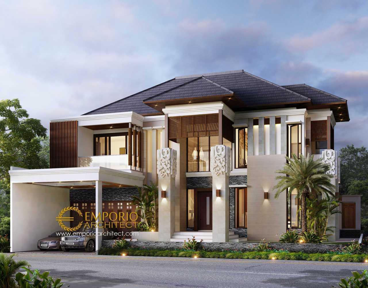 Emporio Architect Jasa Arsitek Bekasi Desain Rumah Villa Bali 2 Lantai 390 @ Bekasi Bekasi, Kota Bks, Jawa Barat, Indonesia Bekasi, Kota Bks, Jawa Barat, Indonesia Emporio-Architect-Jasa-Arsitek-Bekasi-Desain-Rumah-Villa-Bali-2-Lantai-390-Bekasi Tropical 91090