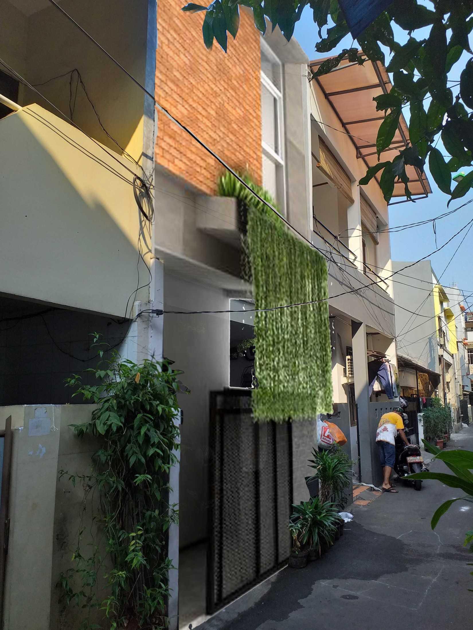 Yasa+ M-House Tj. Duren Utara, Kec. Grogol Petamburan, Kota Jakarta Barat, Daerah Khusus Ibukota Jakarta, Indonesia Tj. Duren Utara, Kec. Grogol Petamburan, Kota Jakarta Barat, Daerah Khusus Ibukota Jakarta, Indonesia Tampak Depan Rumah Tropical 92253